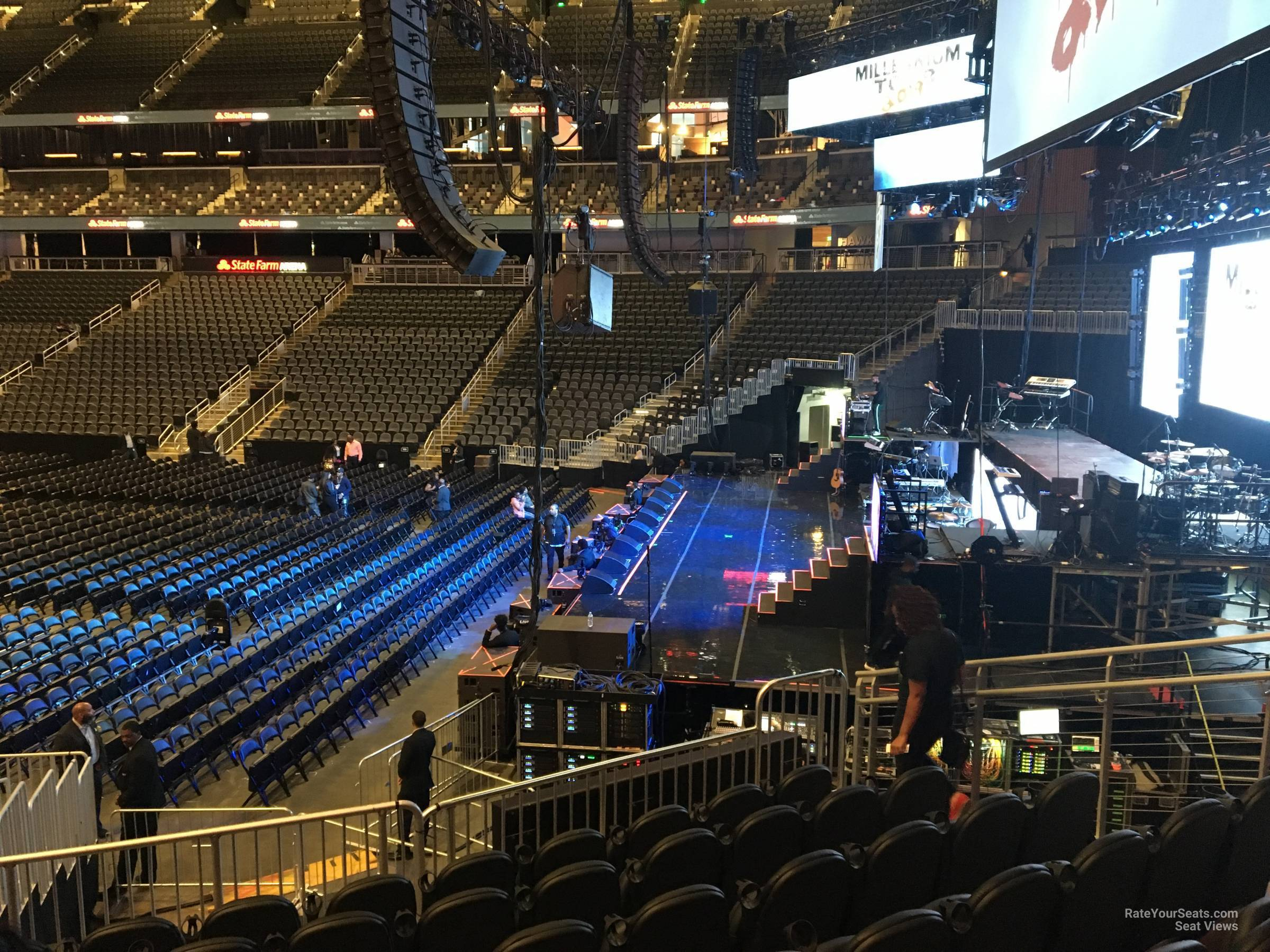 State Farm Arena Section 105 Concert Seating Rateyourseats Com
