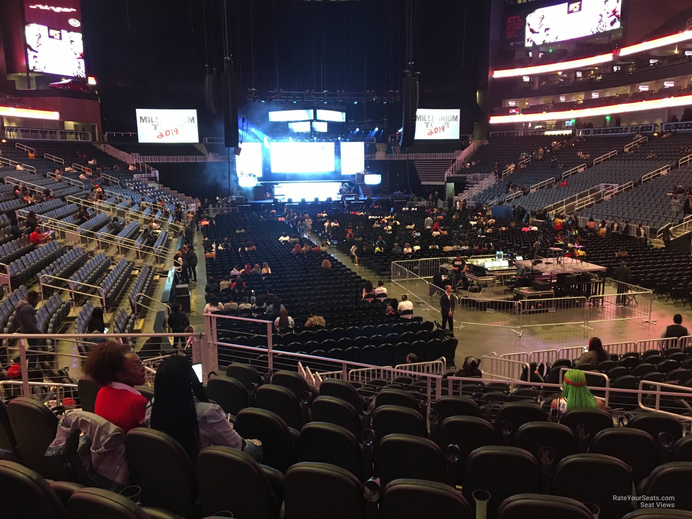 Section 115 At State Farm Arena For Concerts Rateyourseats Com