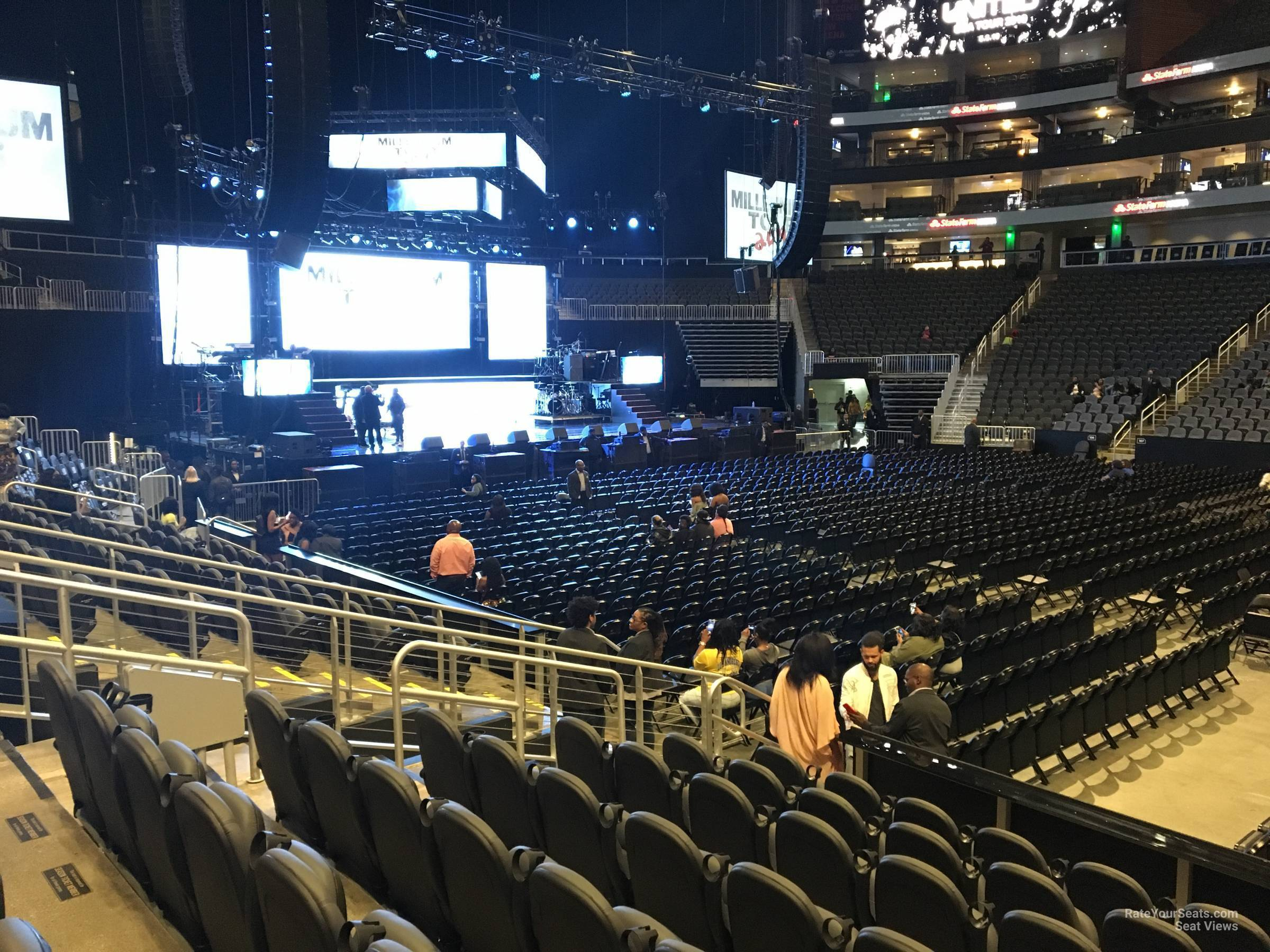 State Farm Arena Section 119 Concert Seating Rateyourseats Com