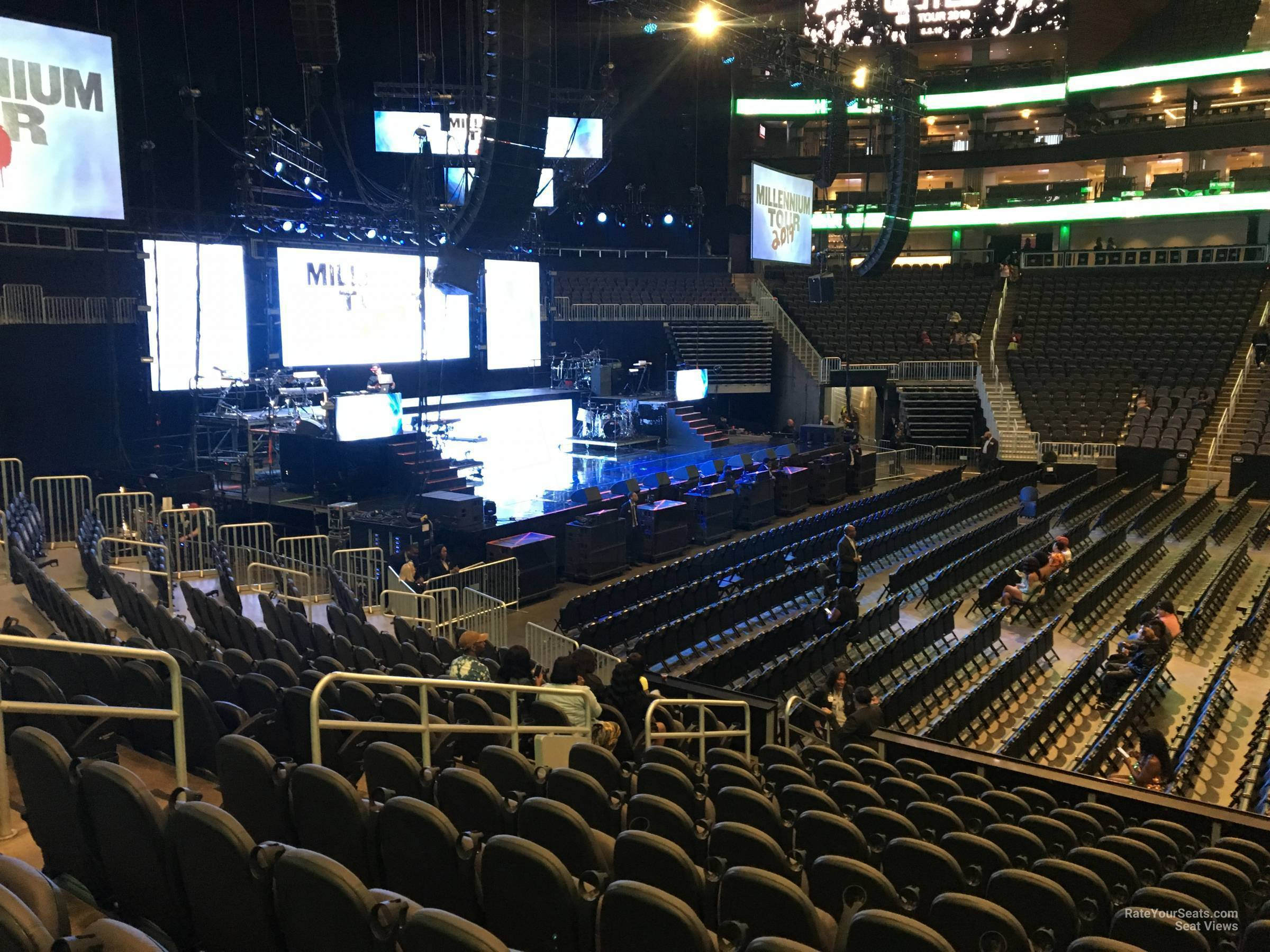 State Farm Arena Section 120 Concert Seating Rateyourseats Com
