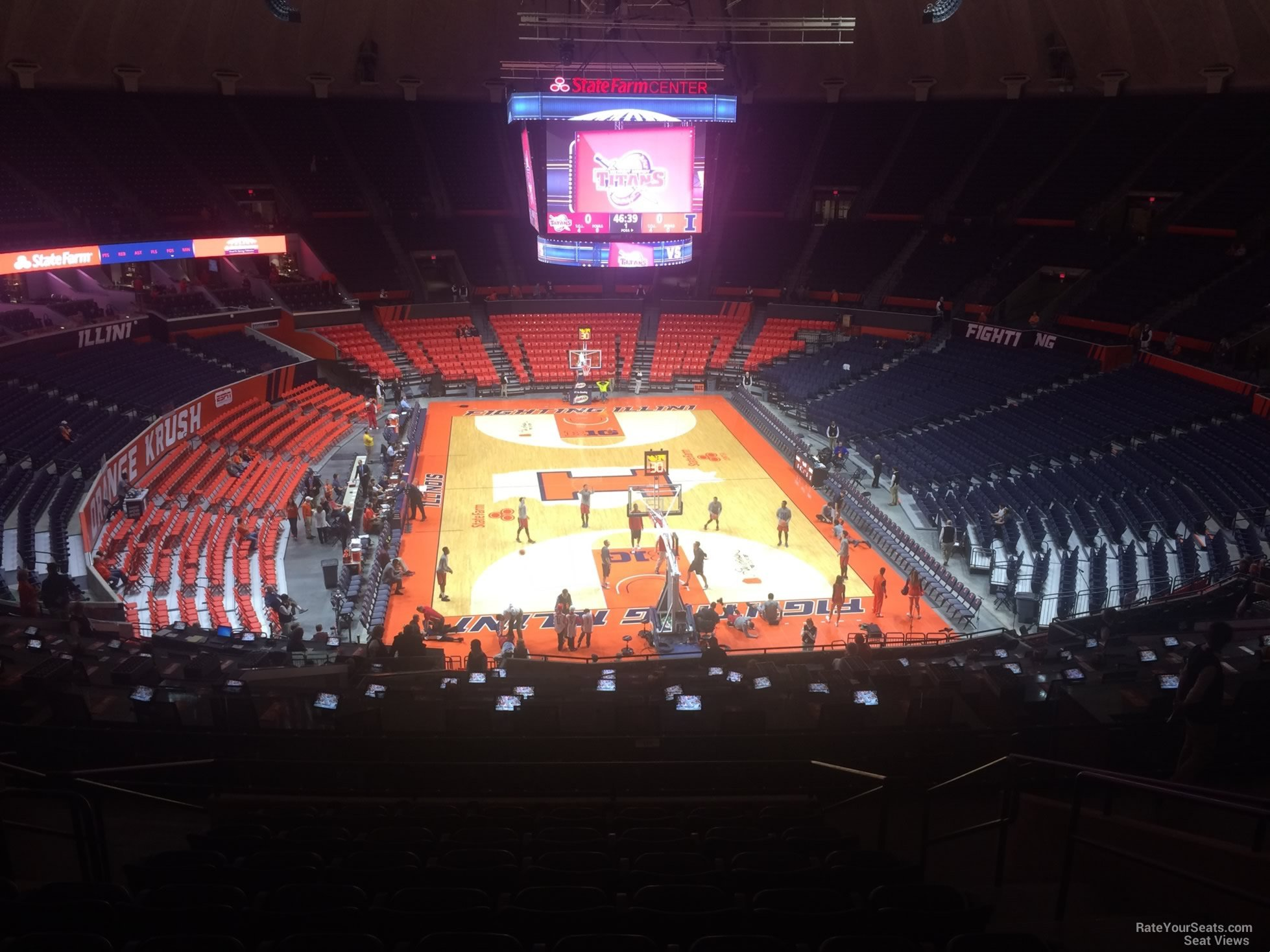 State Farm Center Interactive Seating Chart Seating Charts State