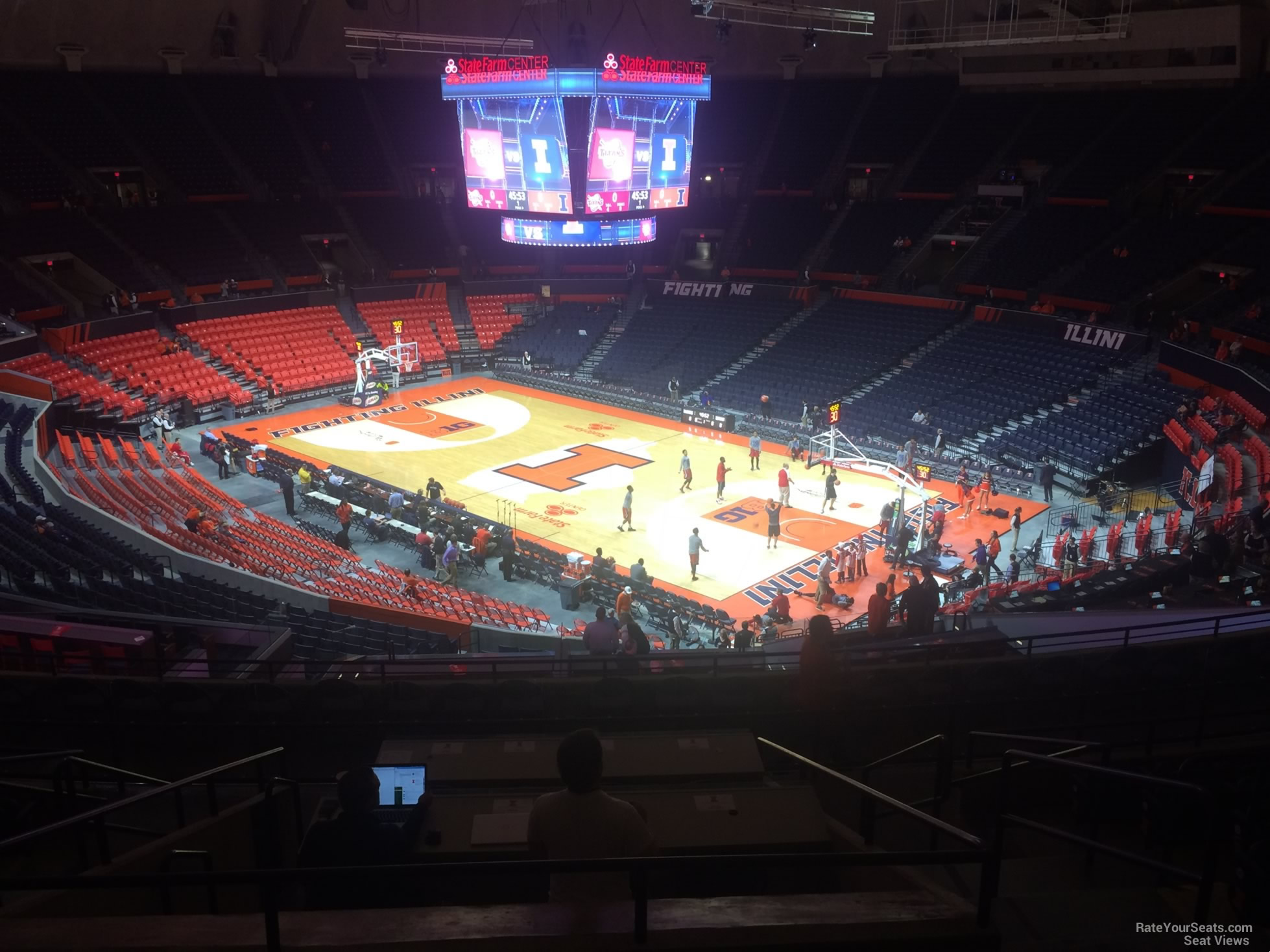 State Farm Center Section 219 Rateyourseatscom