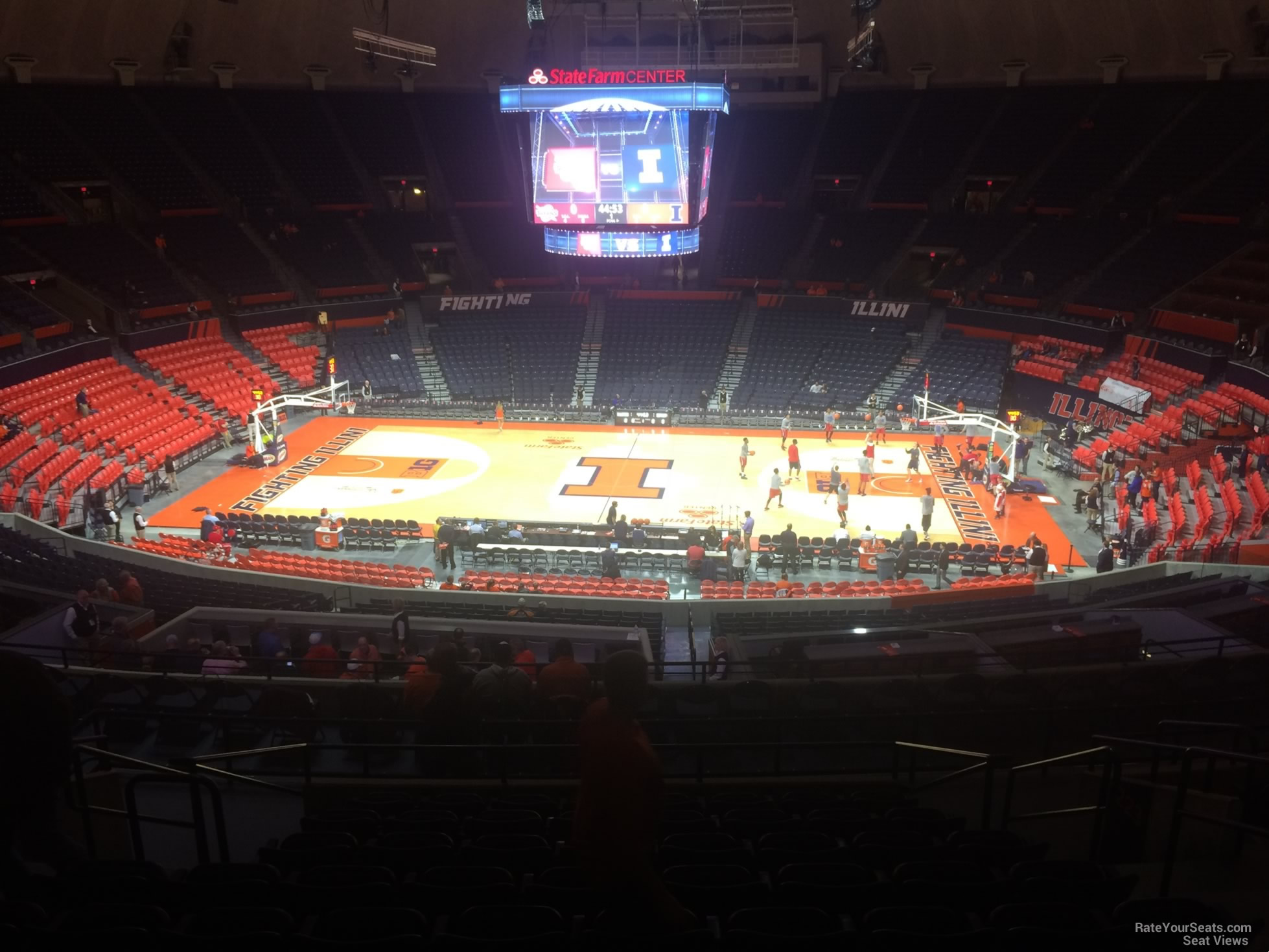 Seat View for State Farm Center Section 224, Row 10