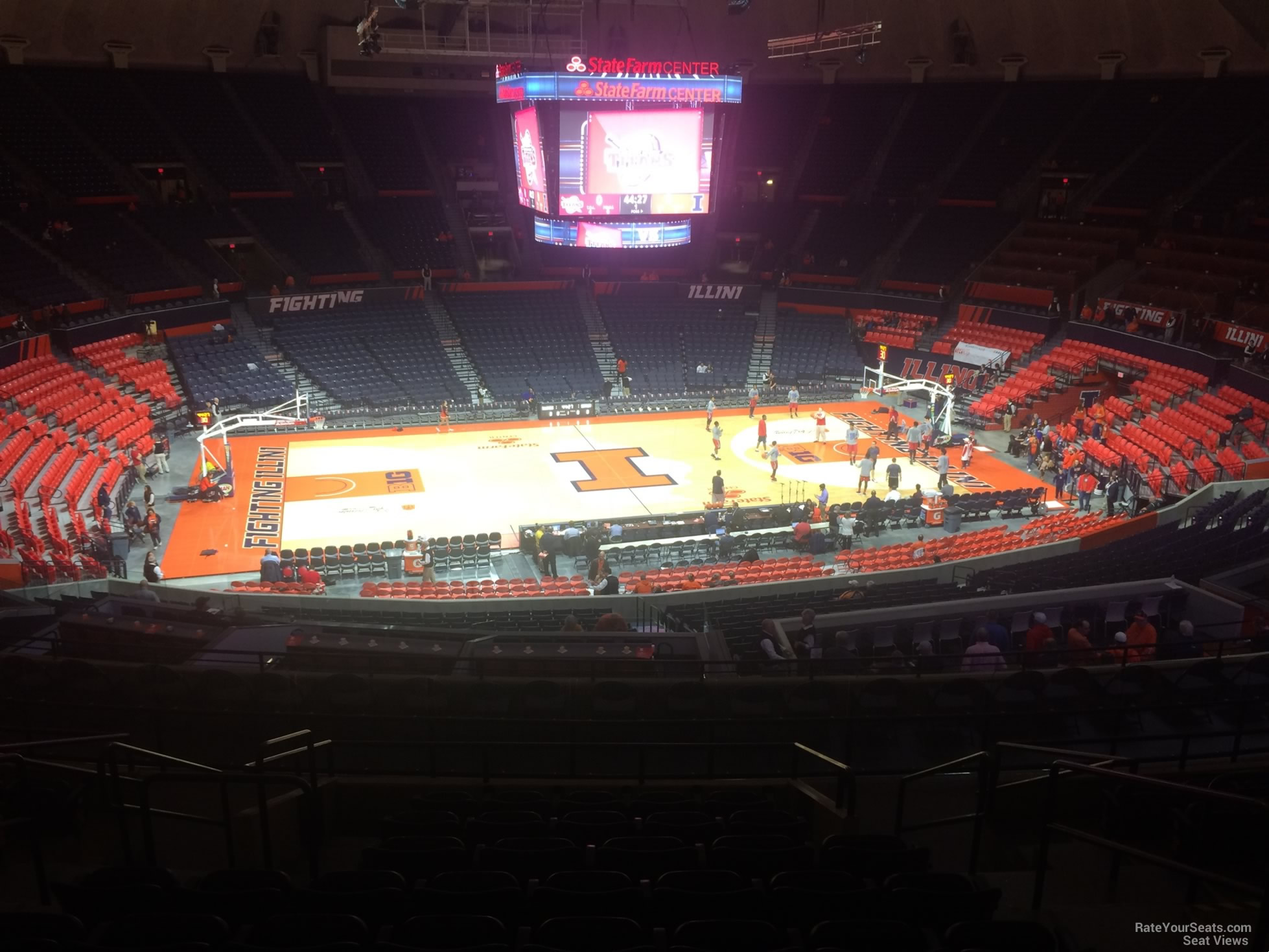 Seat View for State Farm Center Section 227, Row 10