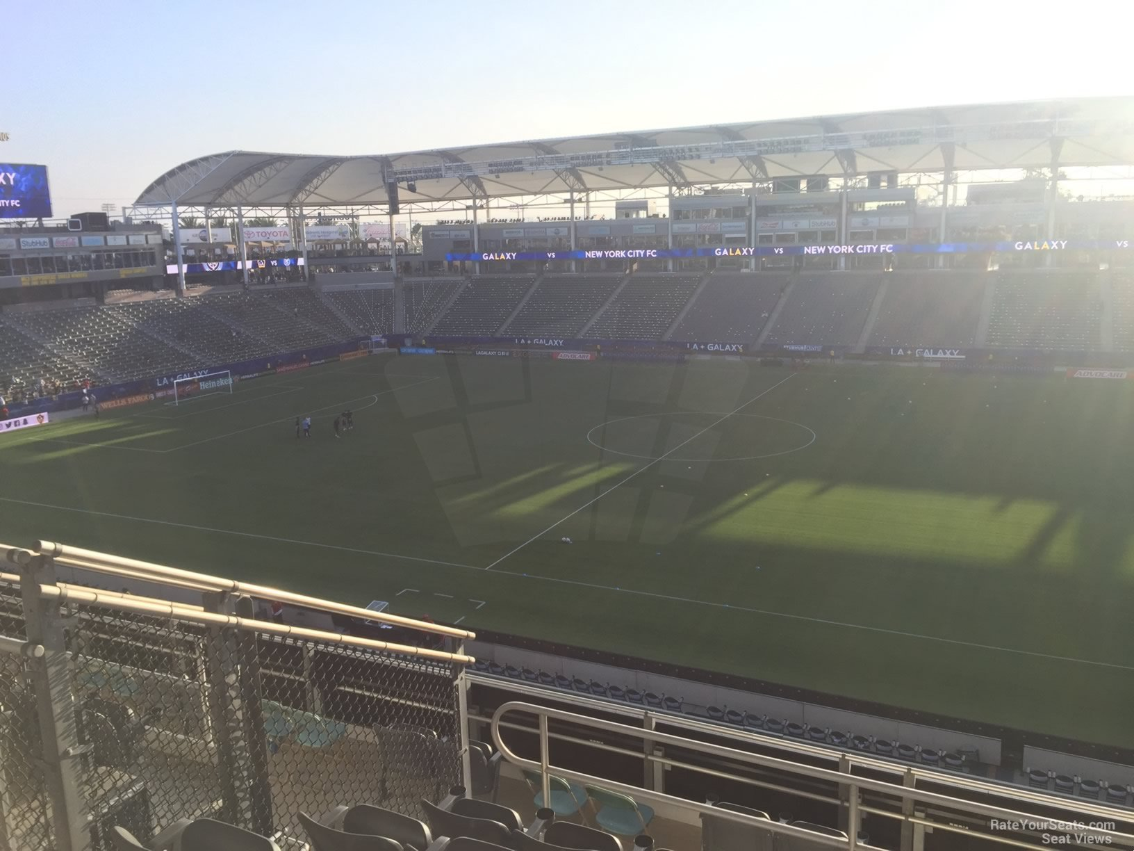 Seat View for Dignity Health Sports Park Section 230, Row JJ