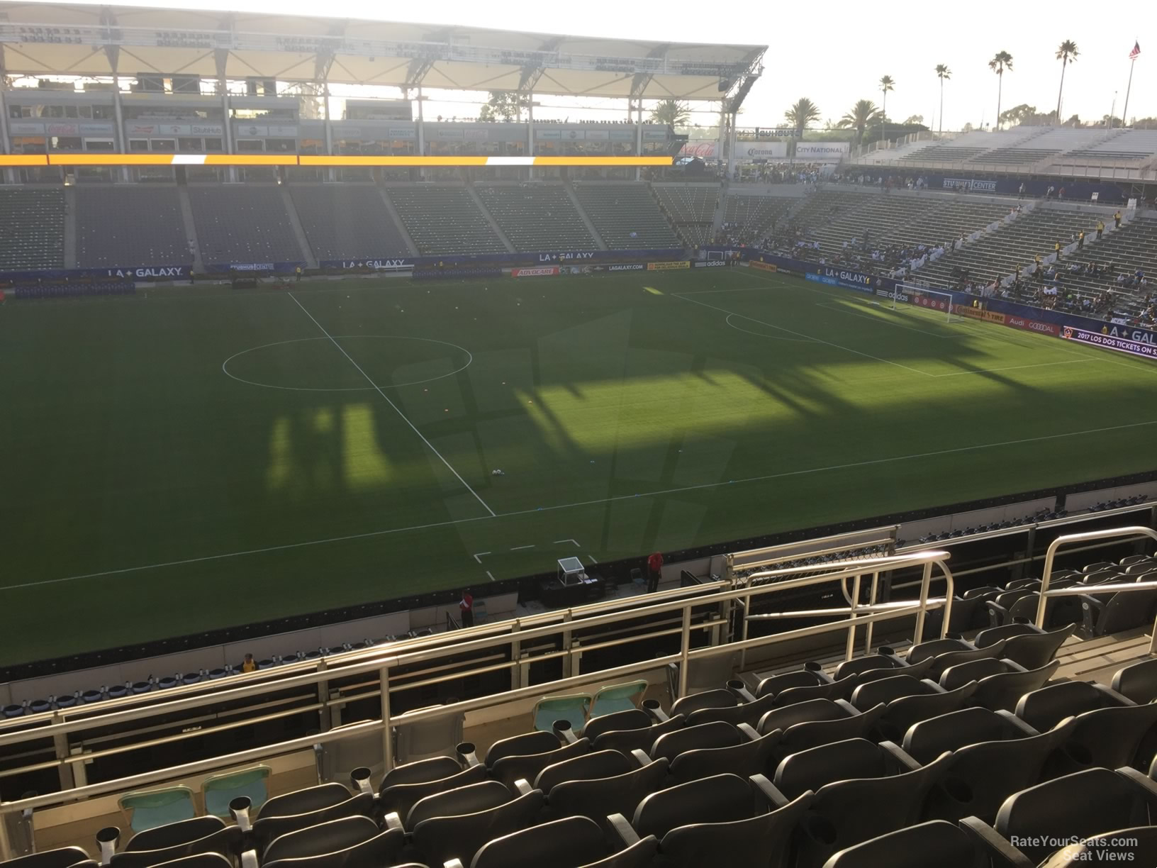 Seat View for Dignity Health Sports Park Section 233, Row JJ