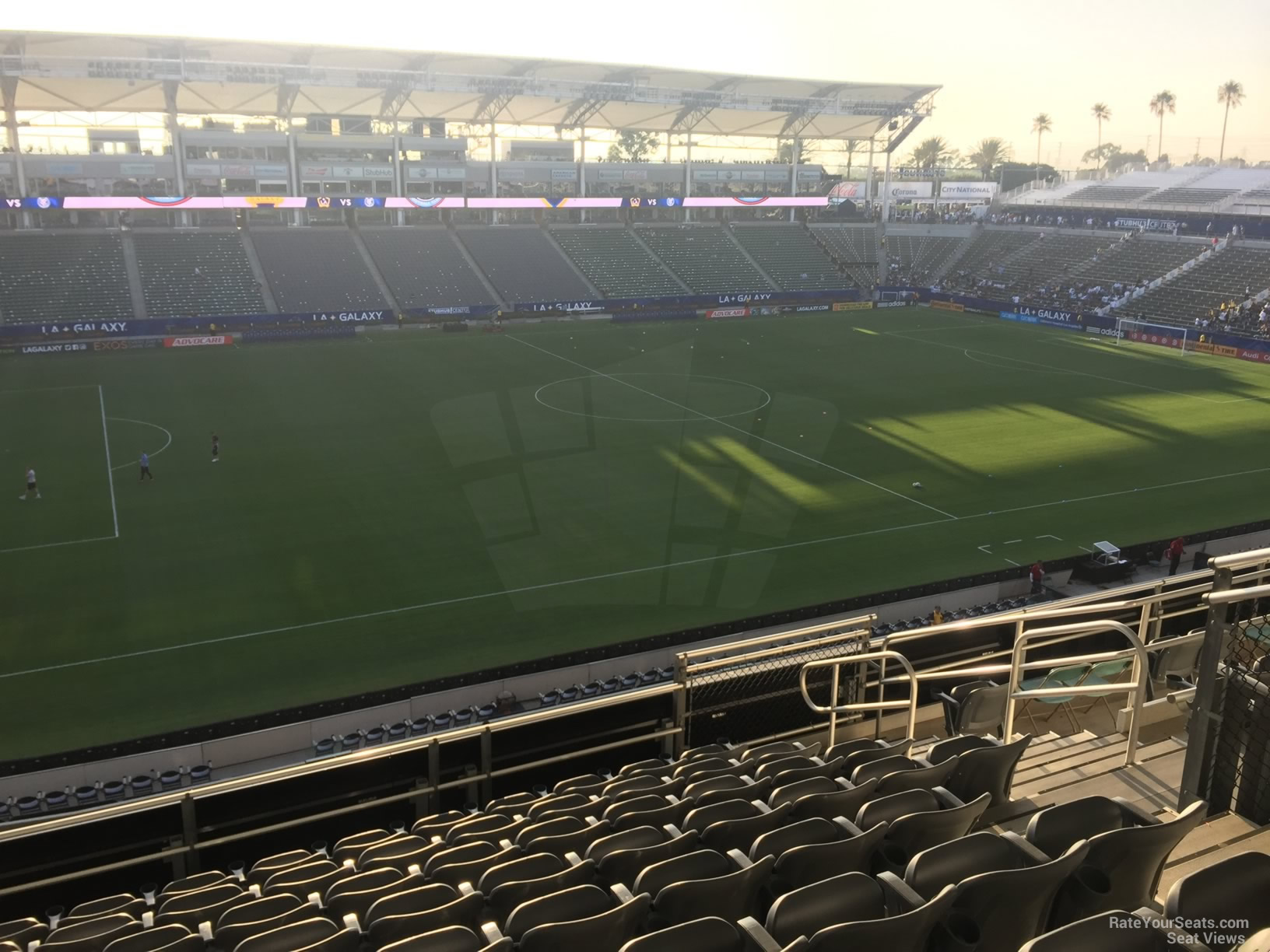 Seat View for Dignity Health Sports Park Section 235, Row JJ