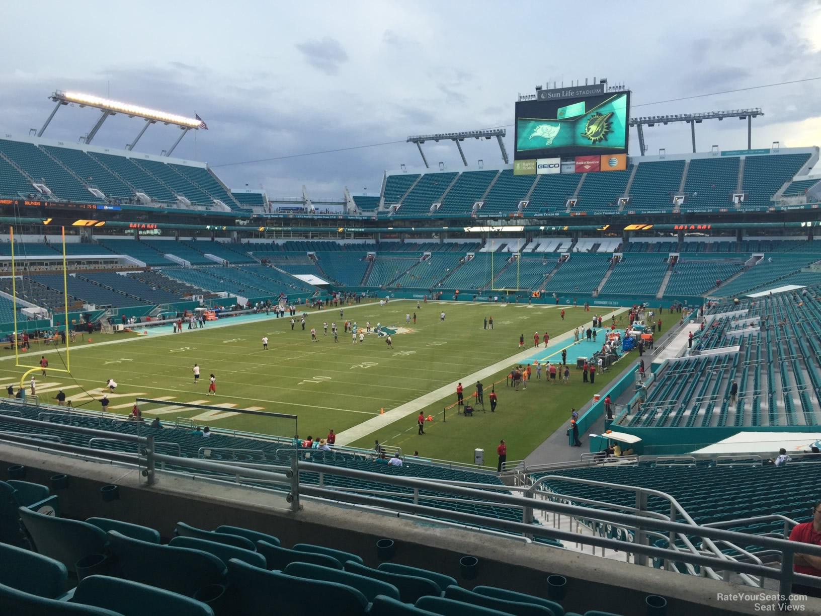 Seat View For Hard Rock Stadium Section 228 Row 5
