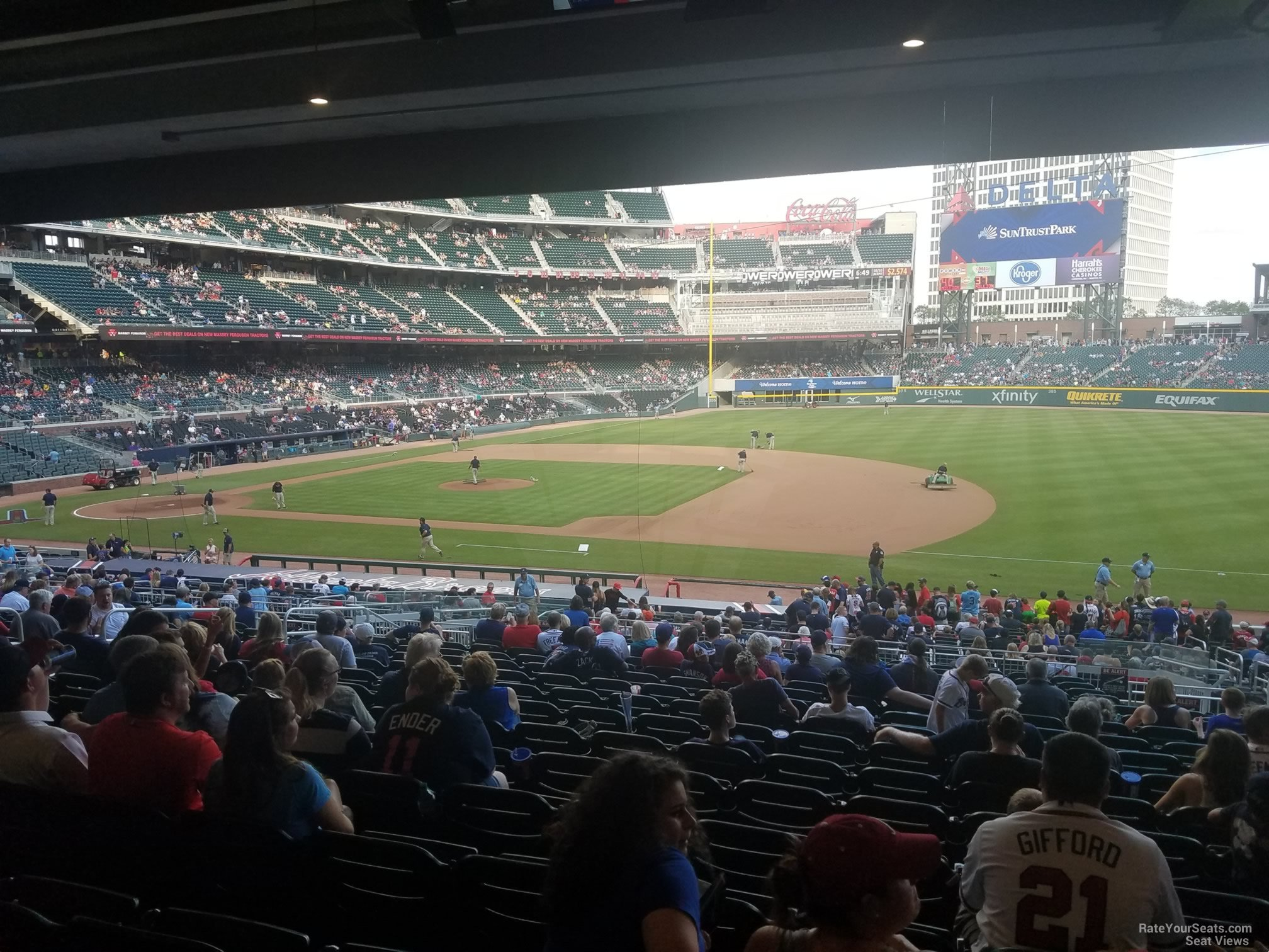 Suntrust Park Section 116 Rateyourseats Com