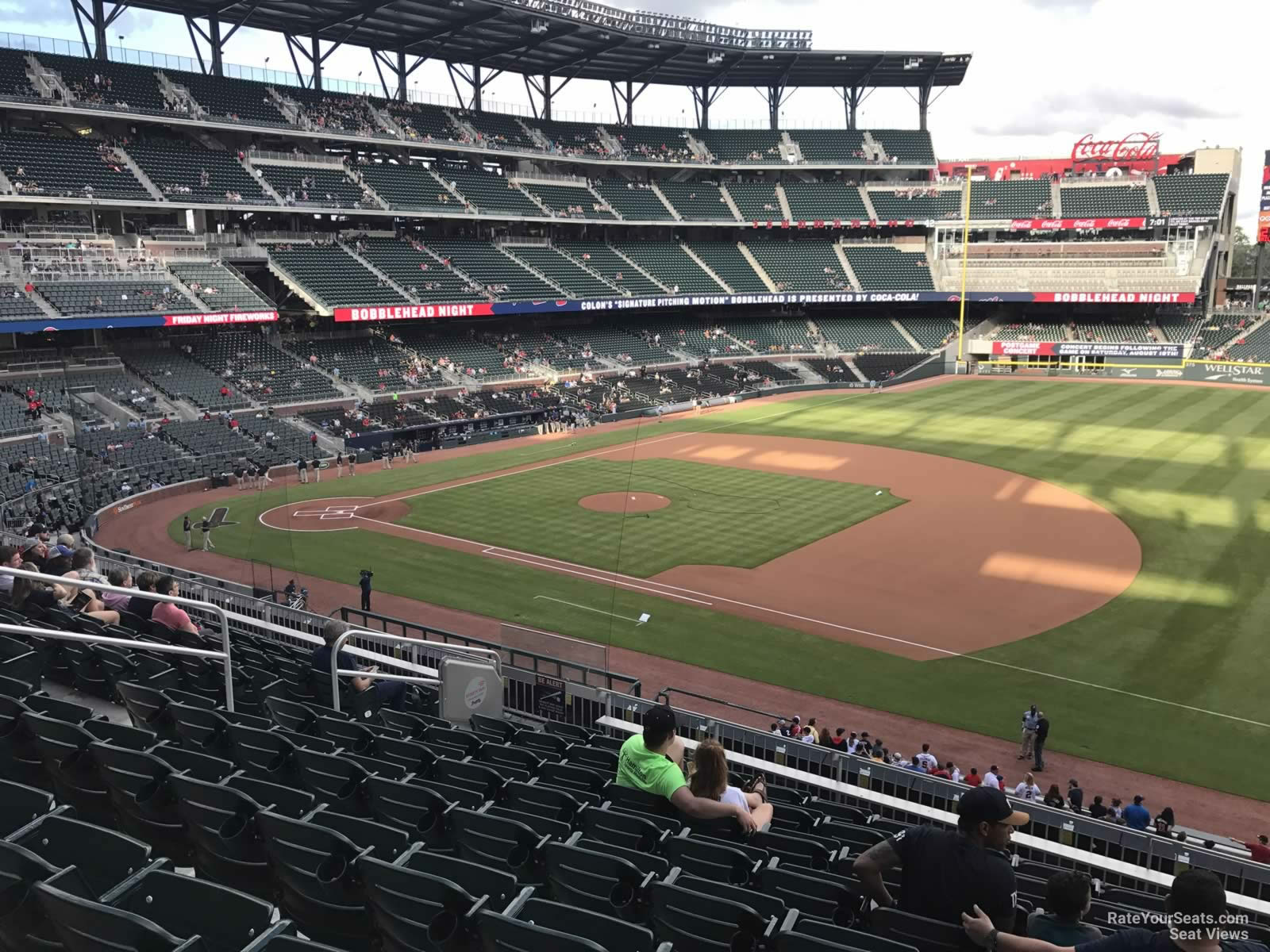 Suntrust Park Section 216 Rateyourseats Com