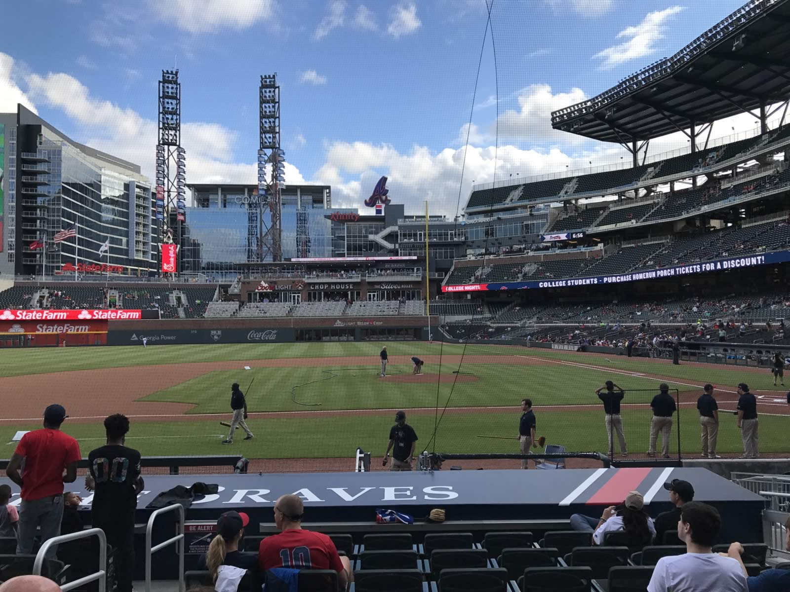 Seat View For SunTrust Park Section 30 Row 10