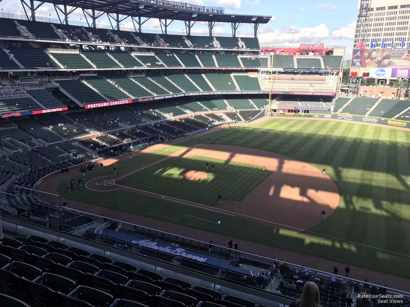Suntrust Park Section 317 Rateyourseats Com
