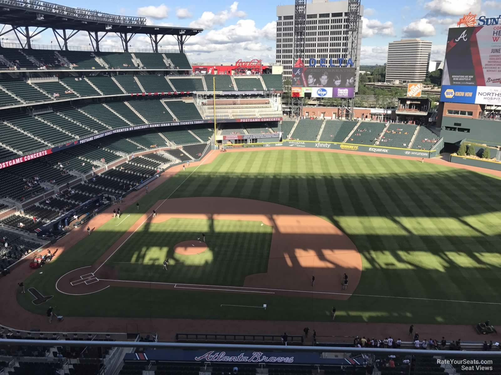 Suntrust Park Section 418 Rateyourseats Com
