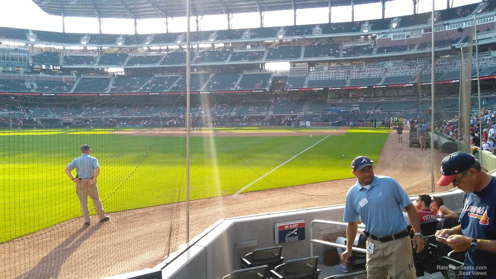 Suntrust Park Section 42 Rateyourseats Com