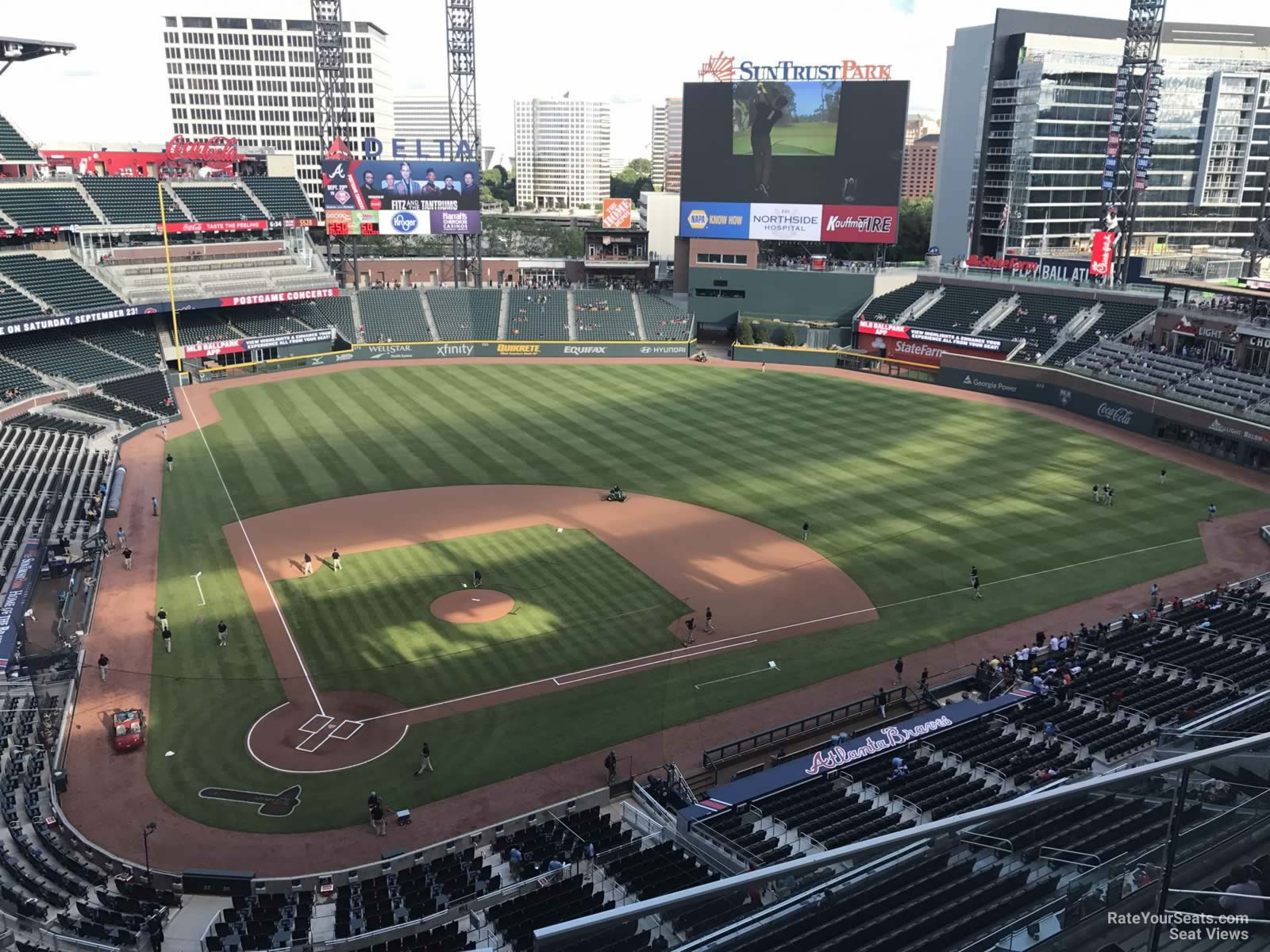 Suntrust Park Section 423 Rateyourseats Com