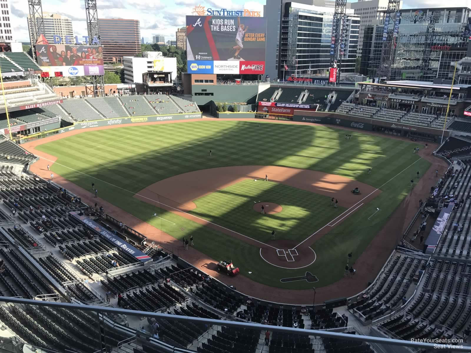 Suntrust Park Section 427 Rateyourseats Com