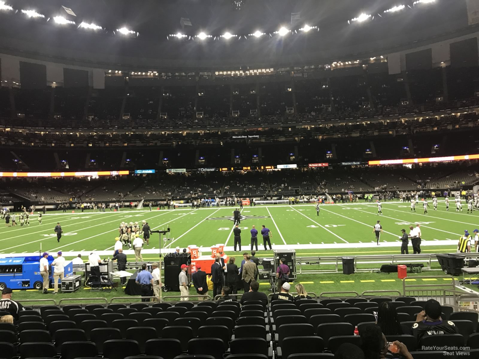 Superdome Section 115 New Orleans Saints Rateyourseats Com