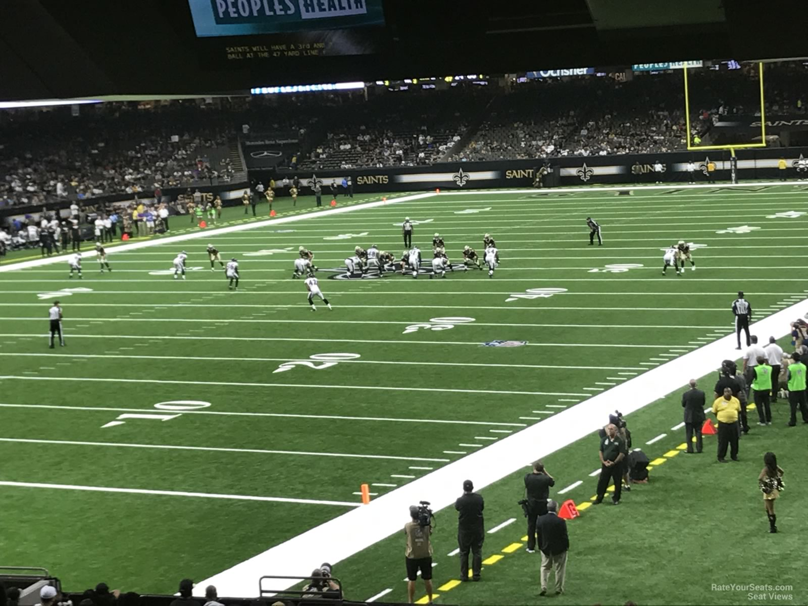 New Orleans Saints Seat View For Superdome Section 152