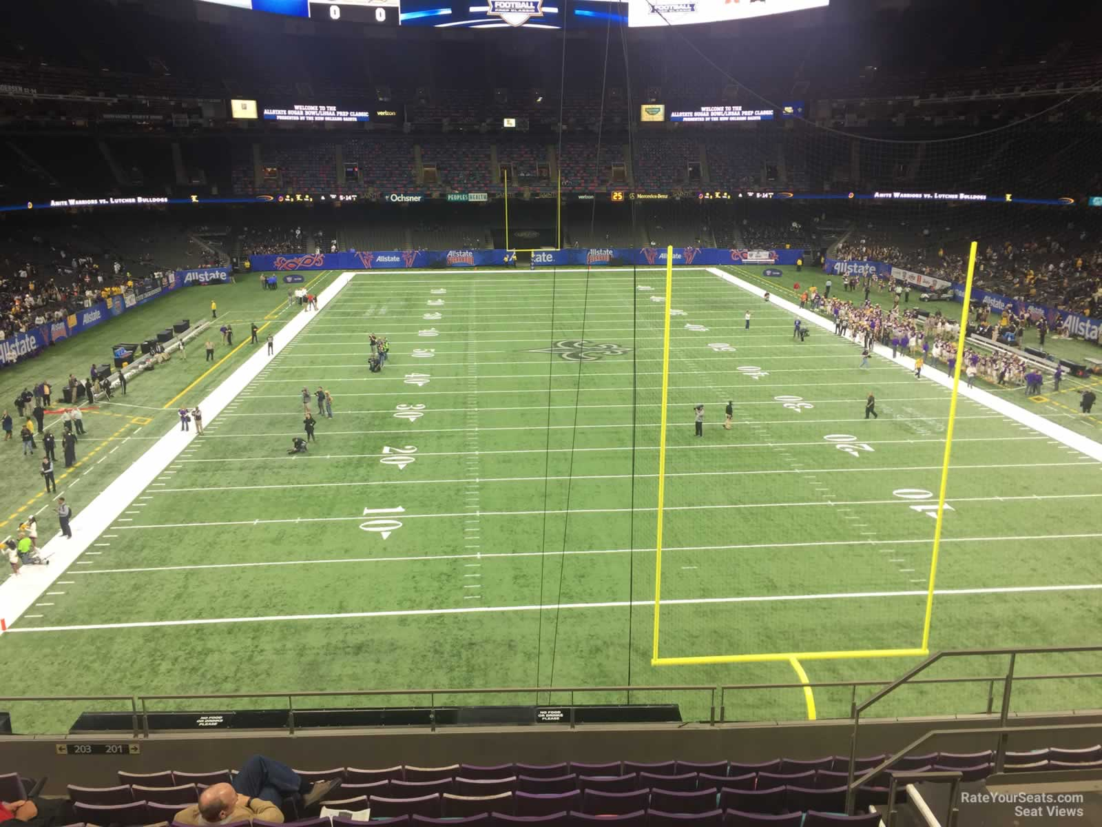 Honda New Orleans >> New Orleans Superdome Seating View | Brokeasshome.com
