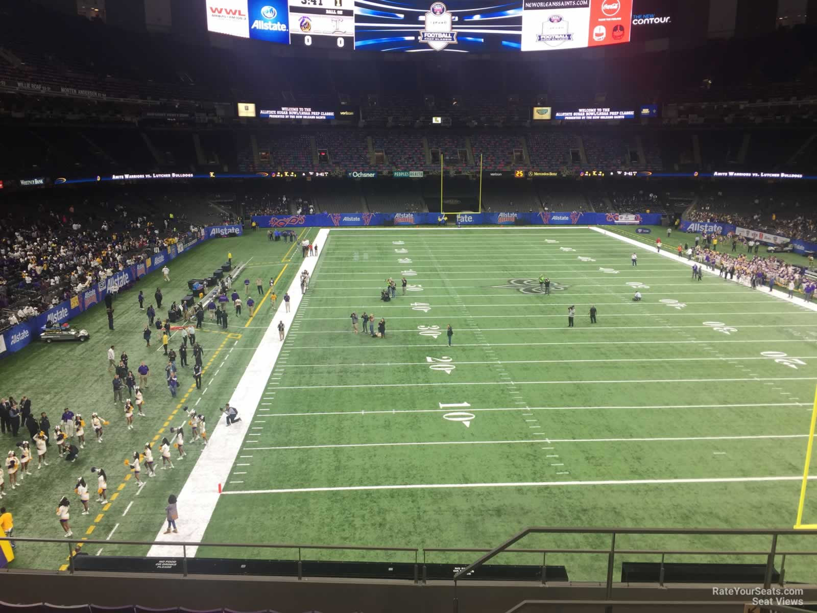 New Orleans Saints Seat View for Superdome Section 302