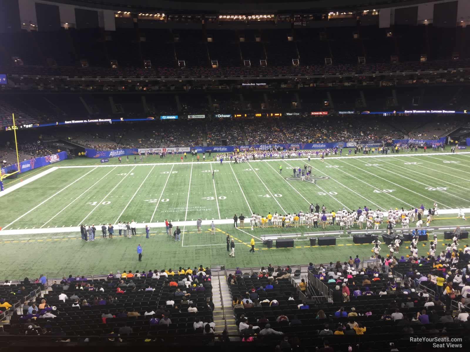 New Orleans Saints Seat View for Superdome Section 314 Row 11