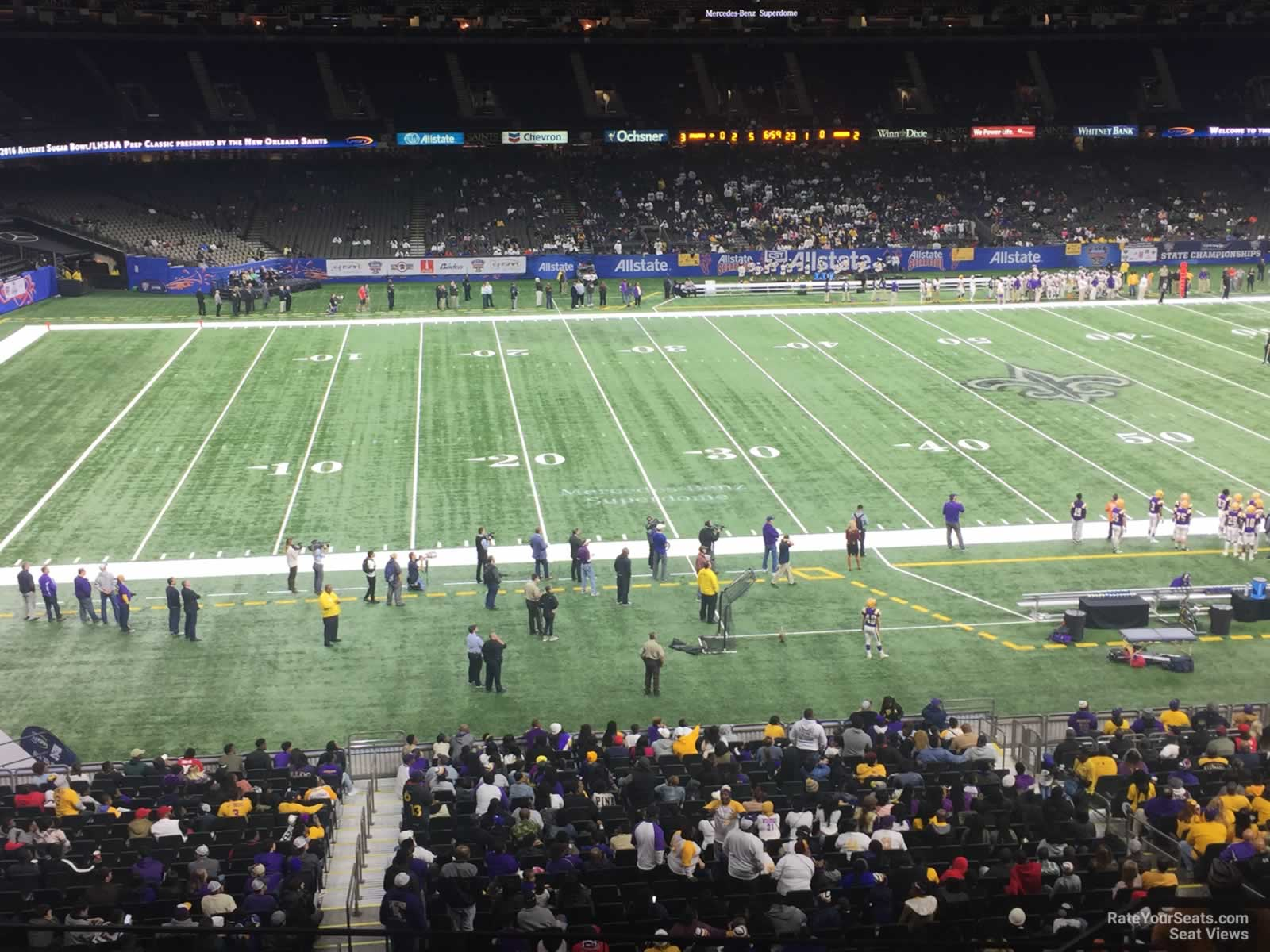 New Orleans Saints Seat View for Superdome Section 339 Row 11