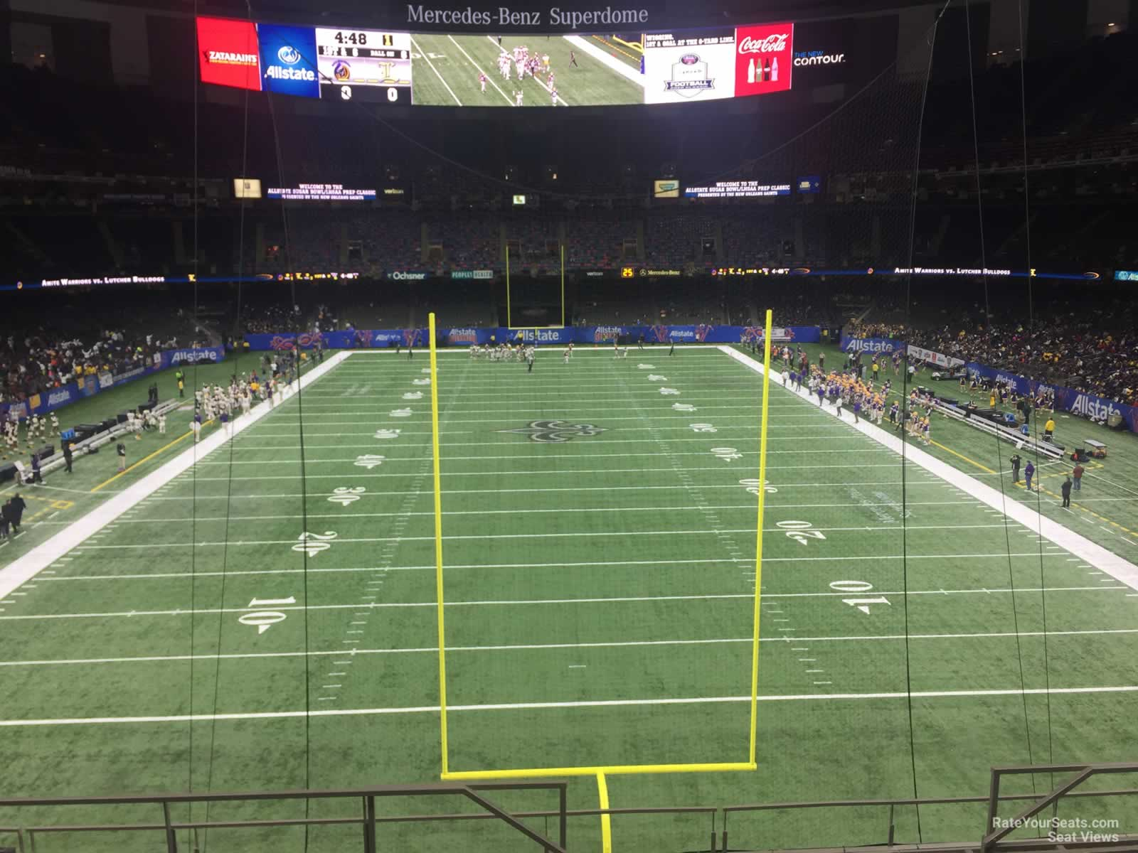New Orleans Saints Seat View for Superdome Section 348 Row 11