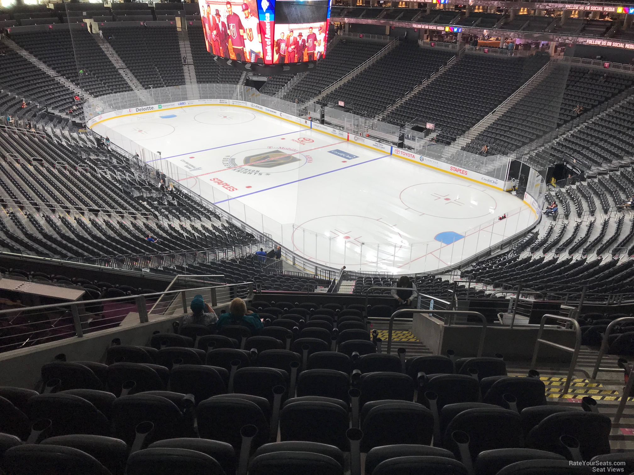Section 117 At T Mobile Arena Vegas Golden Knights