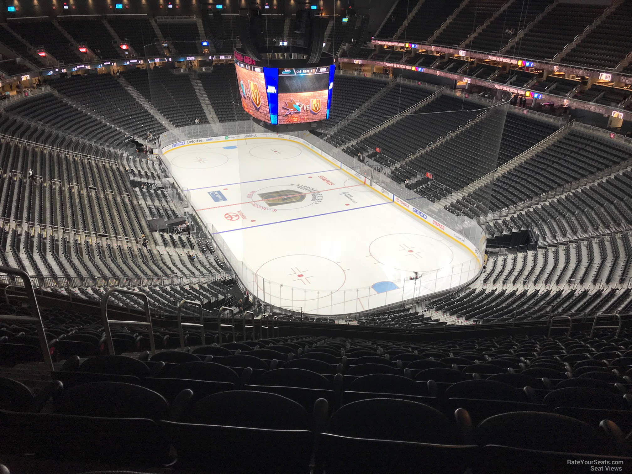 T Mobile Arena Section 212 Vegas Golden Knights Rateyourseats Com