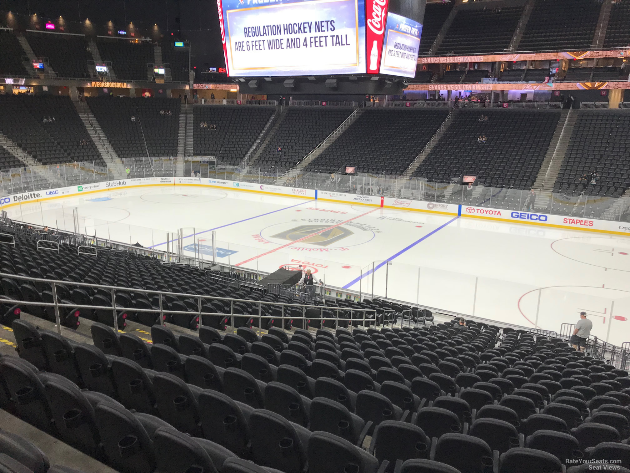 T Mobile Arena Section 7 Vegas Golden Knights Rateyourseats Com