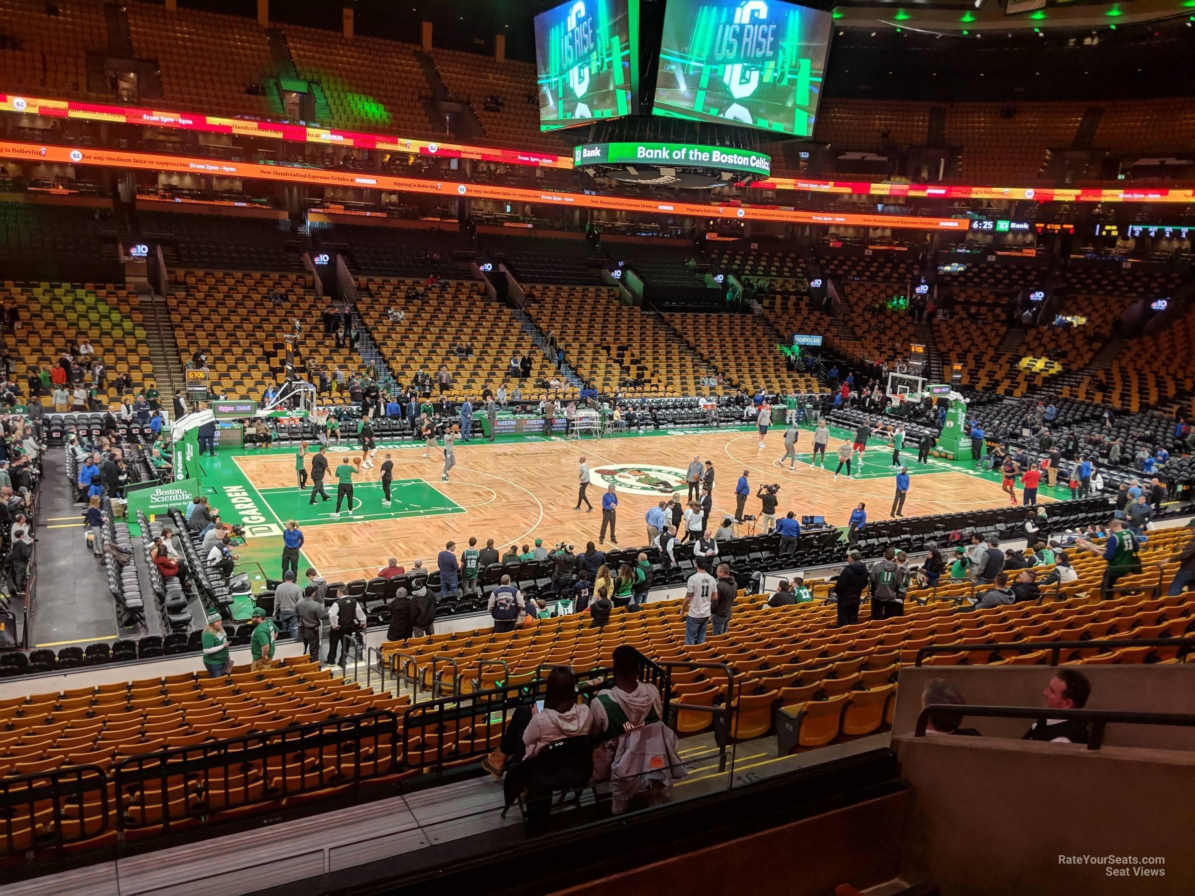 Td Garden Section 145 Boston Celtics Rateyourseats Com