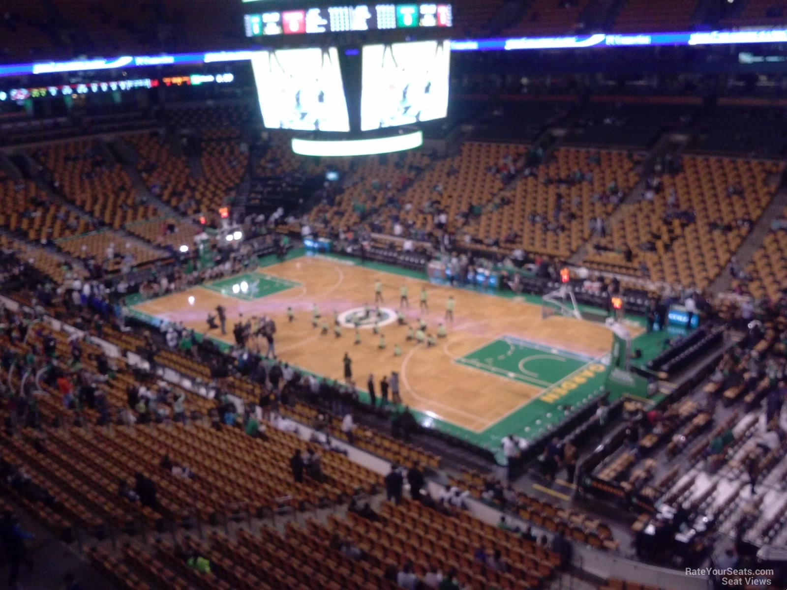 Boston Celtics Seat View For TD Garden Section 312, ...