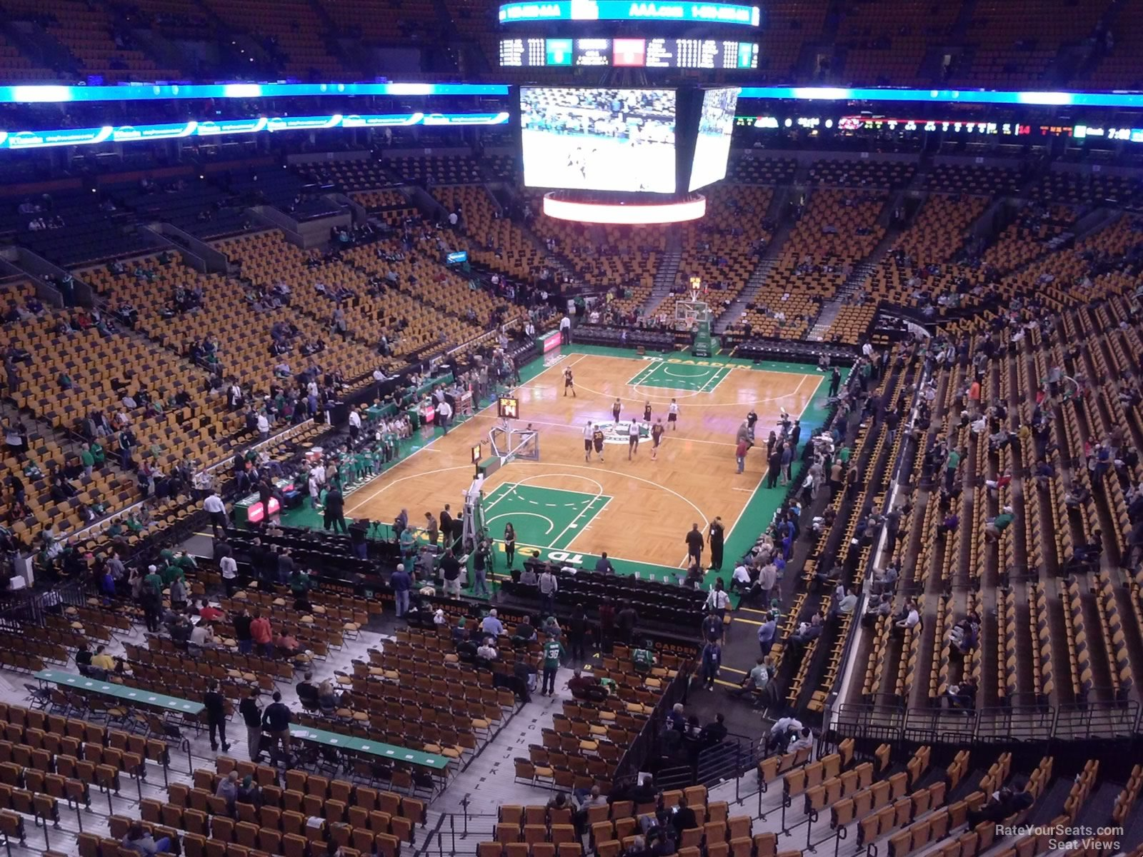 Td Garden Section 322 Boston Celtics Rateyourseats Com