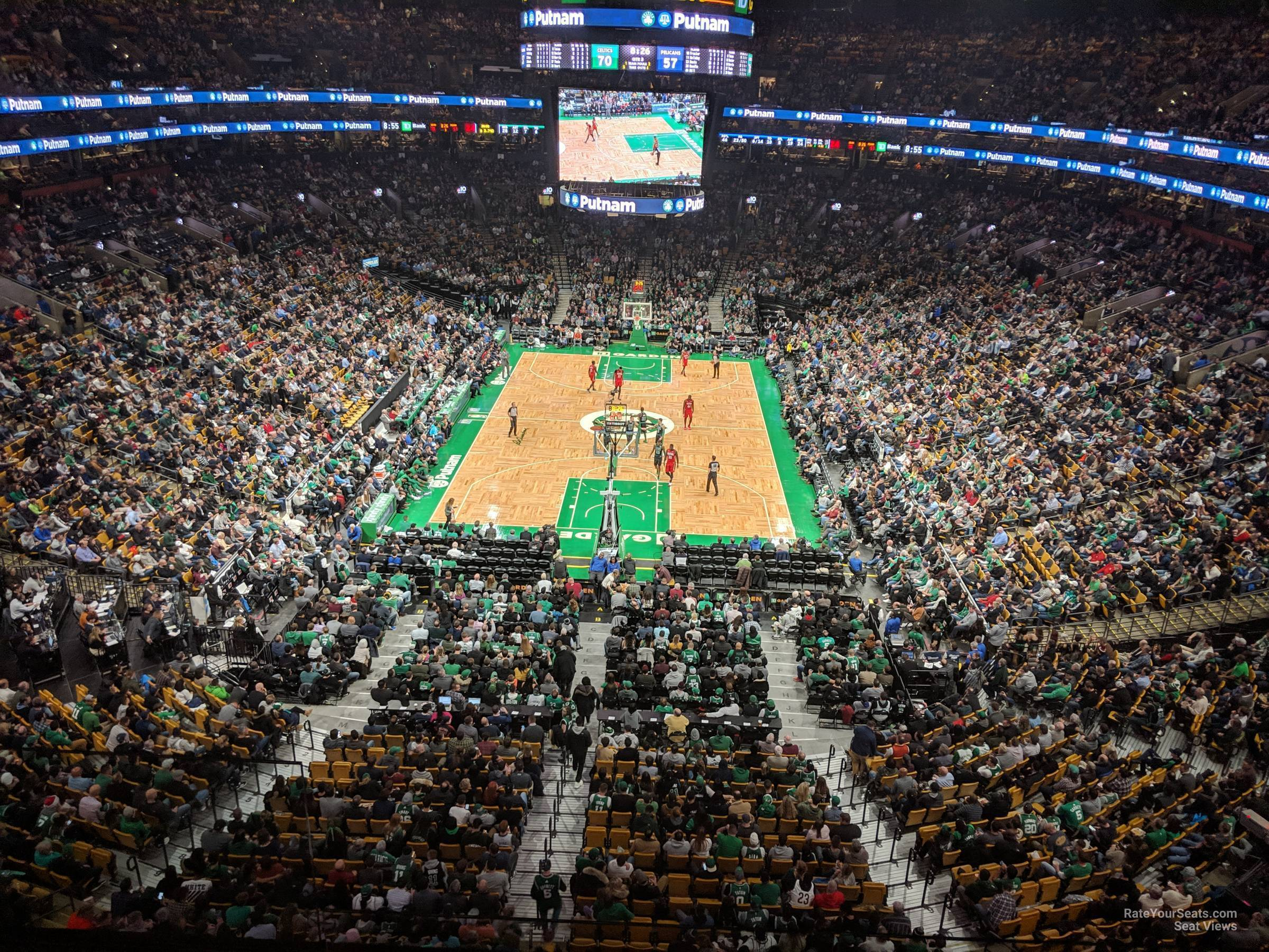 Section 323 seat view