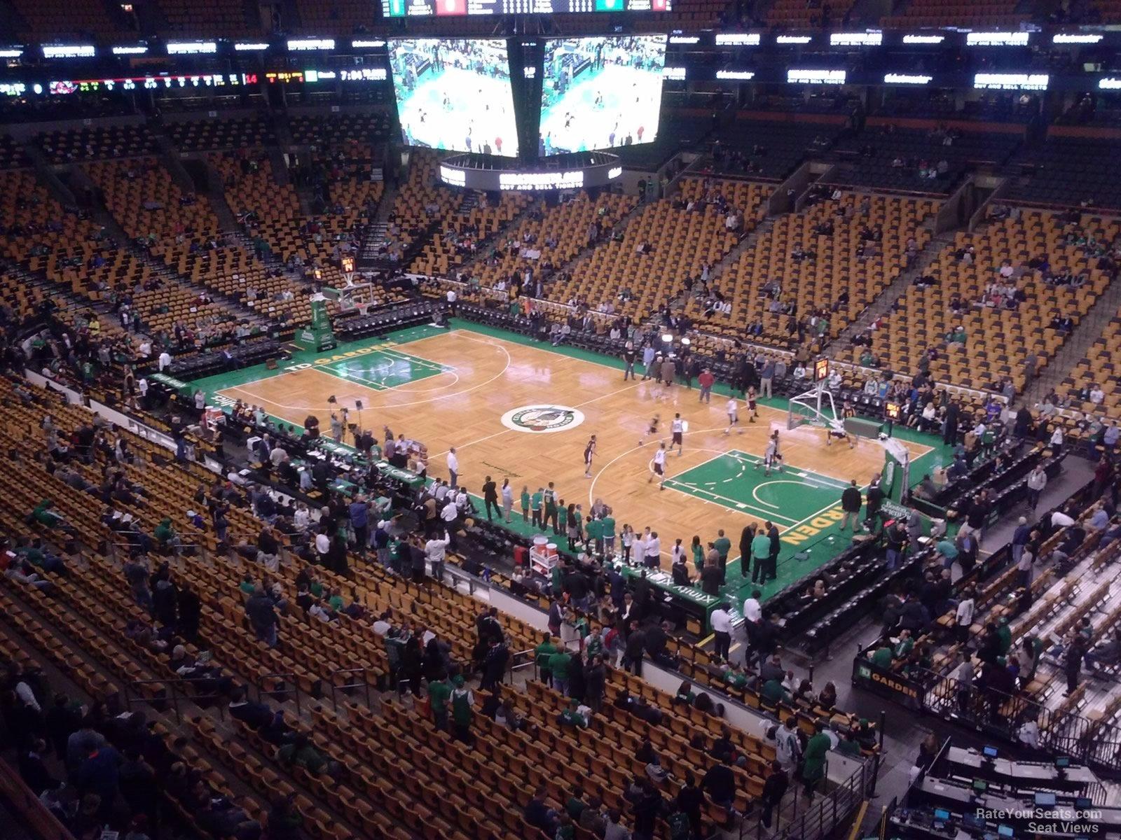Td Garden Section 327 Boston Celtics Rateyourseats Com