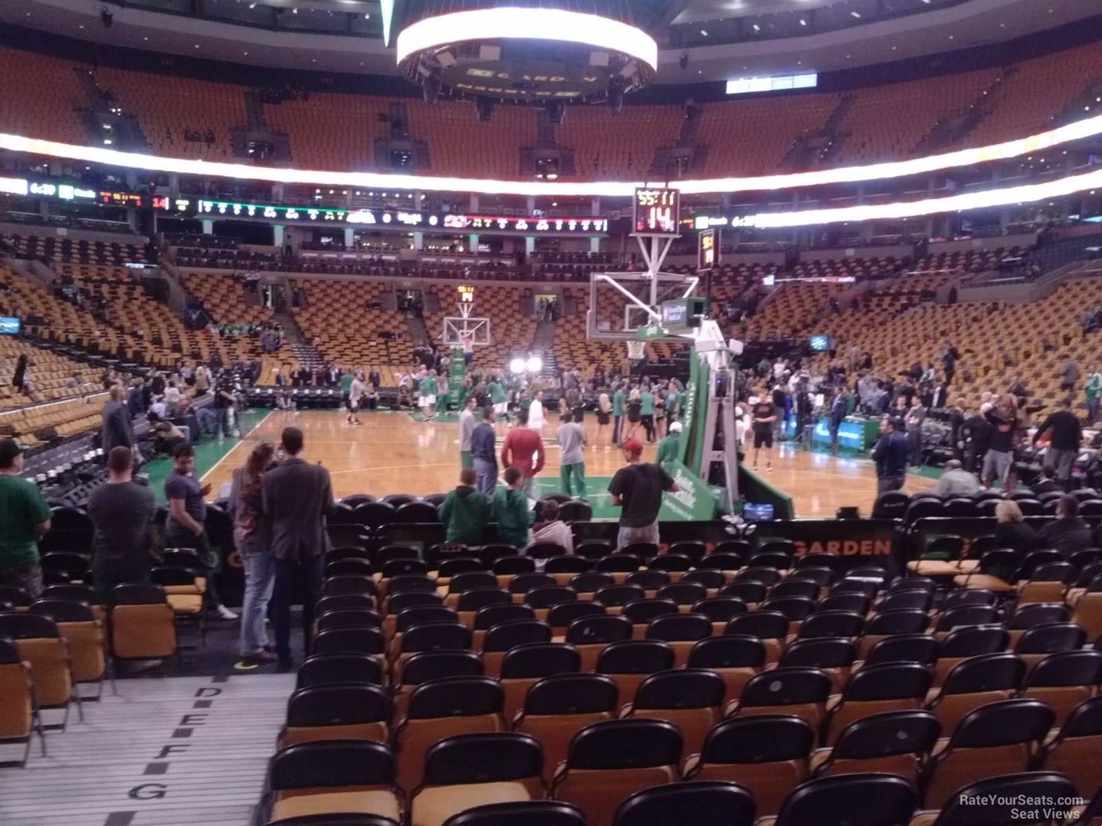 TD Garden Loge 7 Boston Celtics RateYourSeatscom
