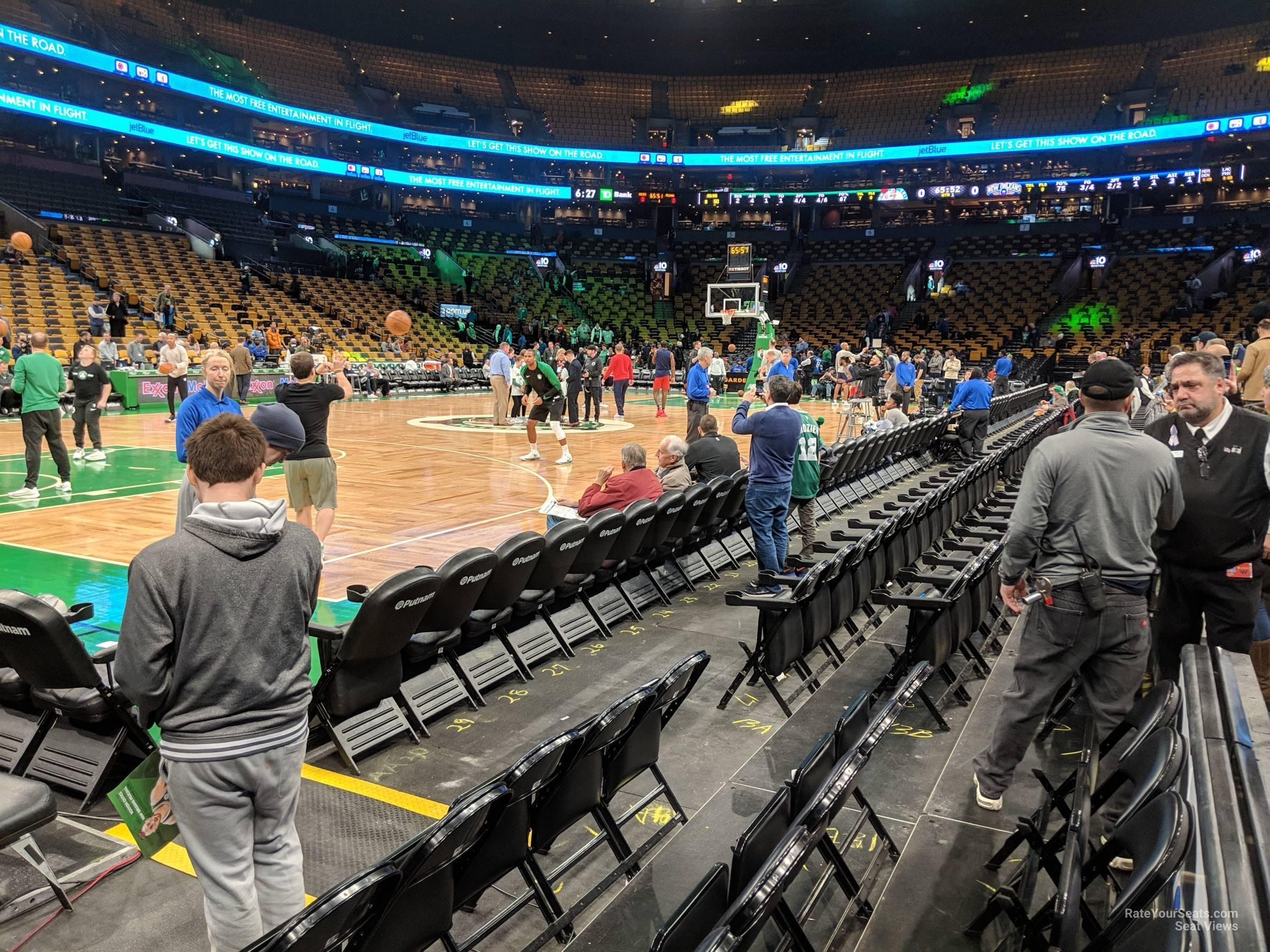 Td Garden Floor 13 Boston Celtics Rateyourseats Com