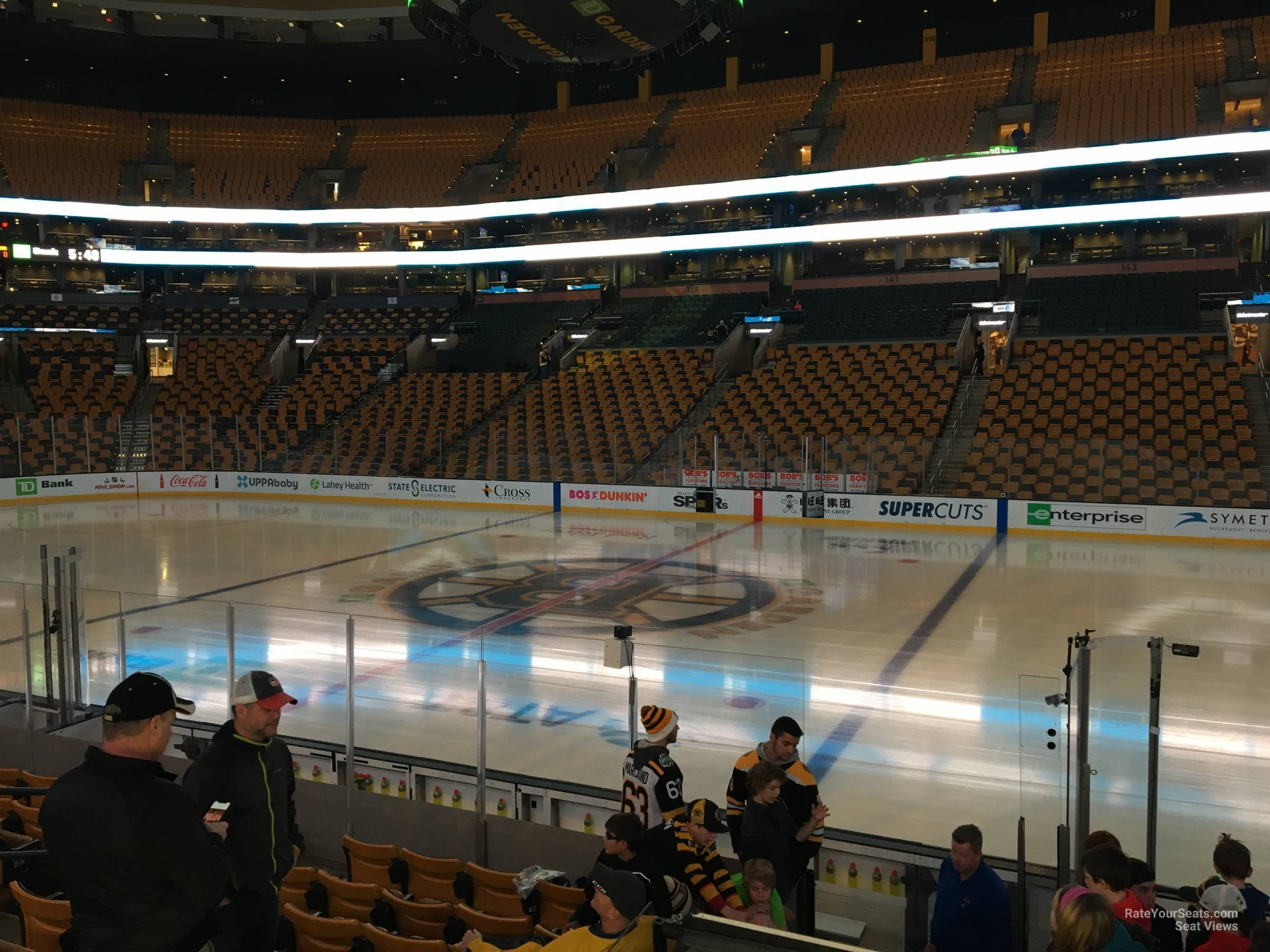 Td Garden Loge 22 Boston Bruins Rateyourseats Com