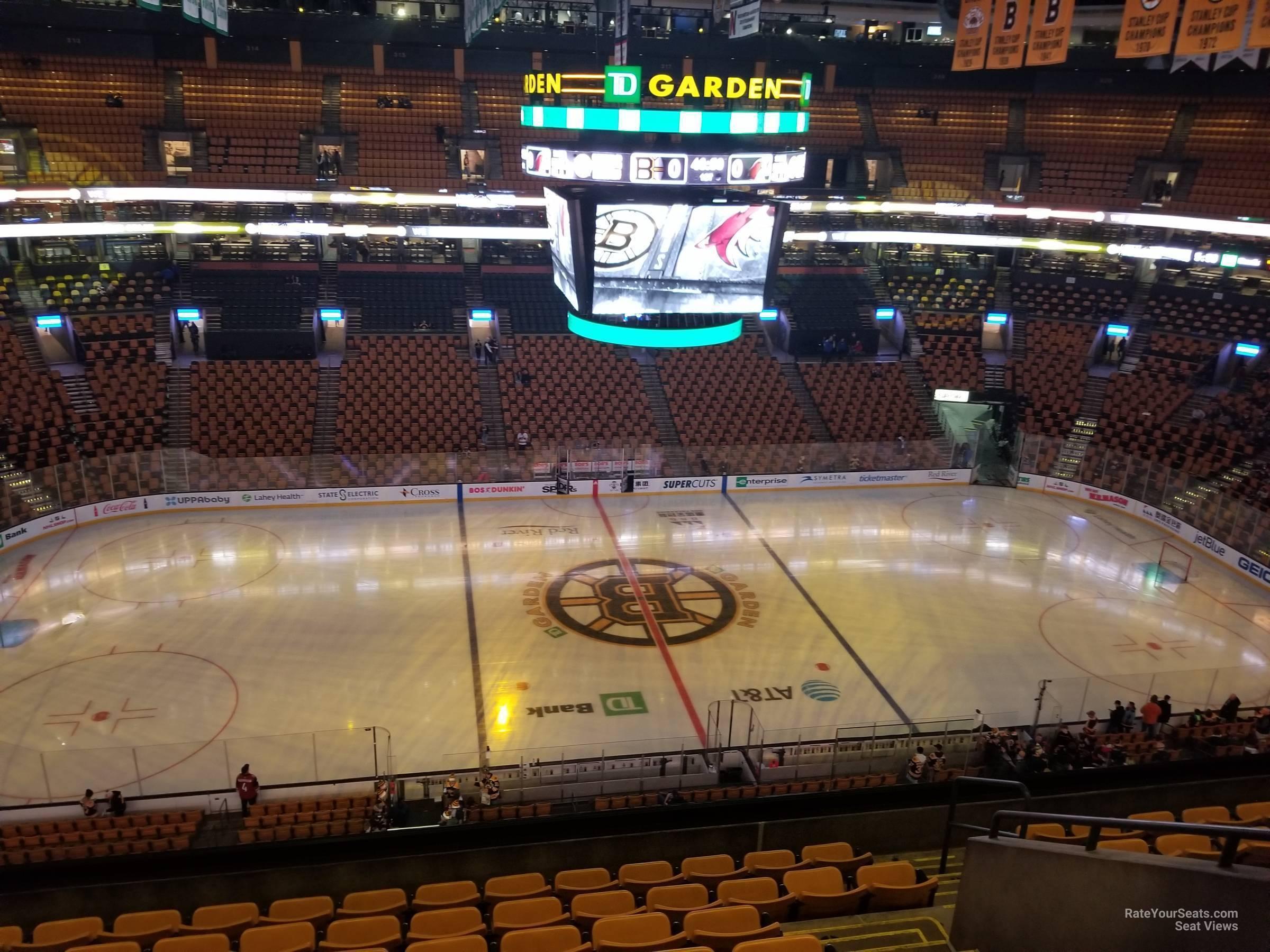 Td Garden Section 302 Boston Bruins Rateyourseats Com