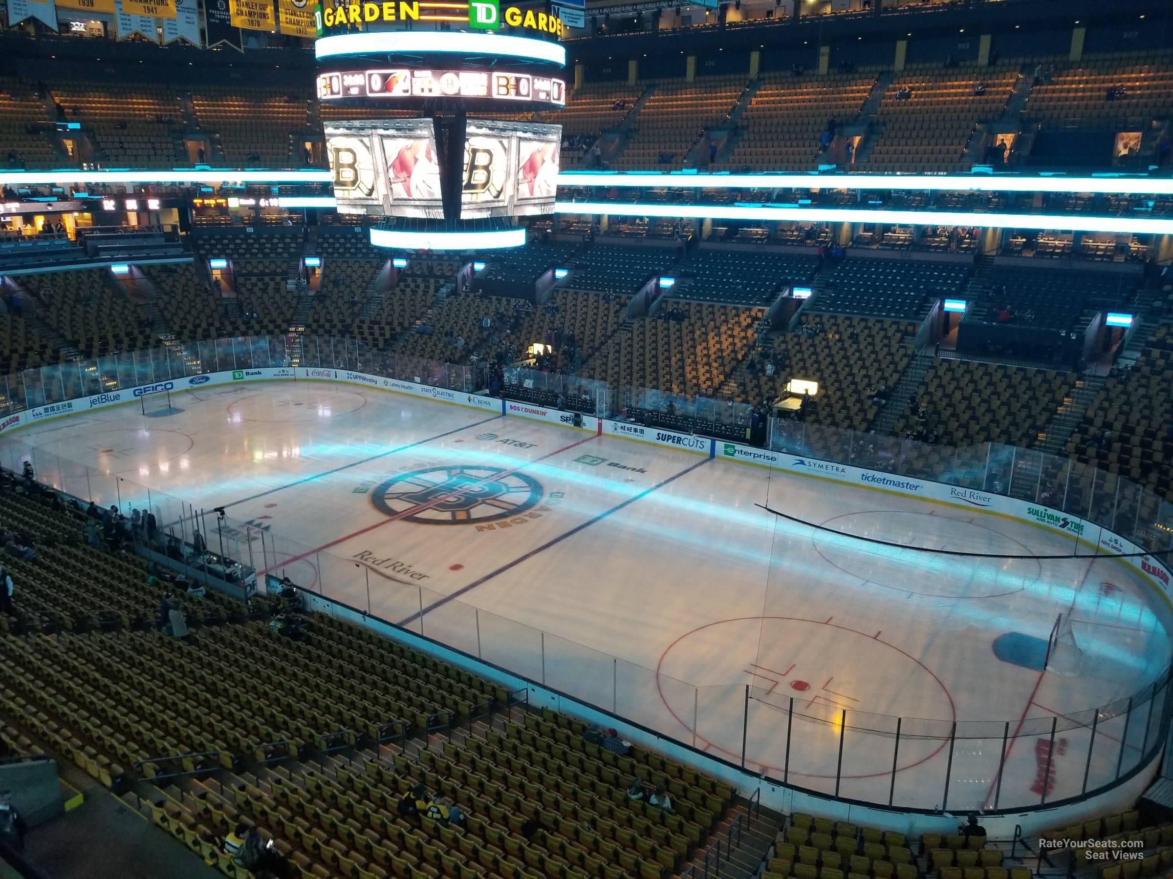 Td Garden Section 313 Boston Bruins Rateyourseats Com