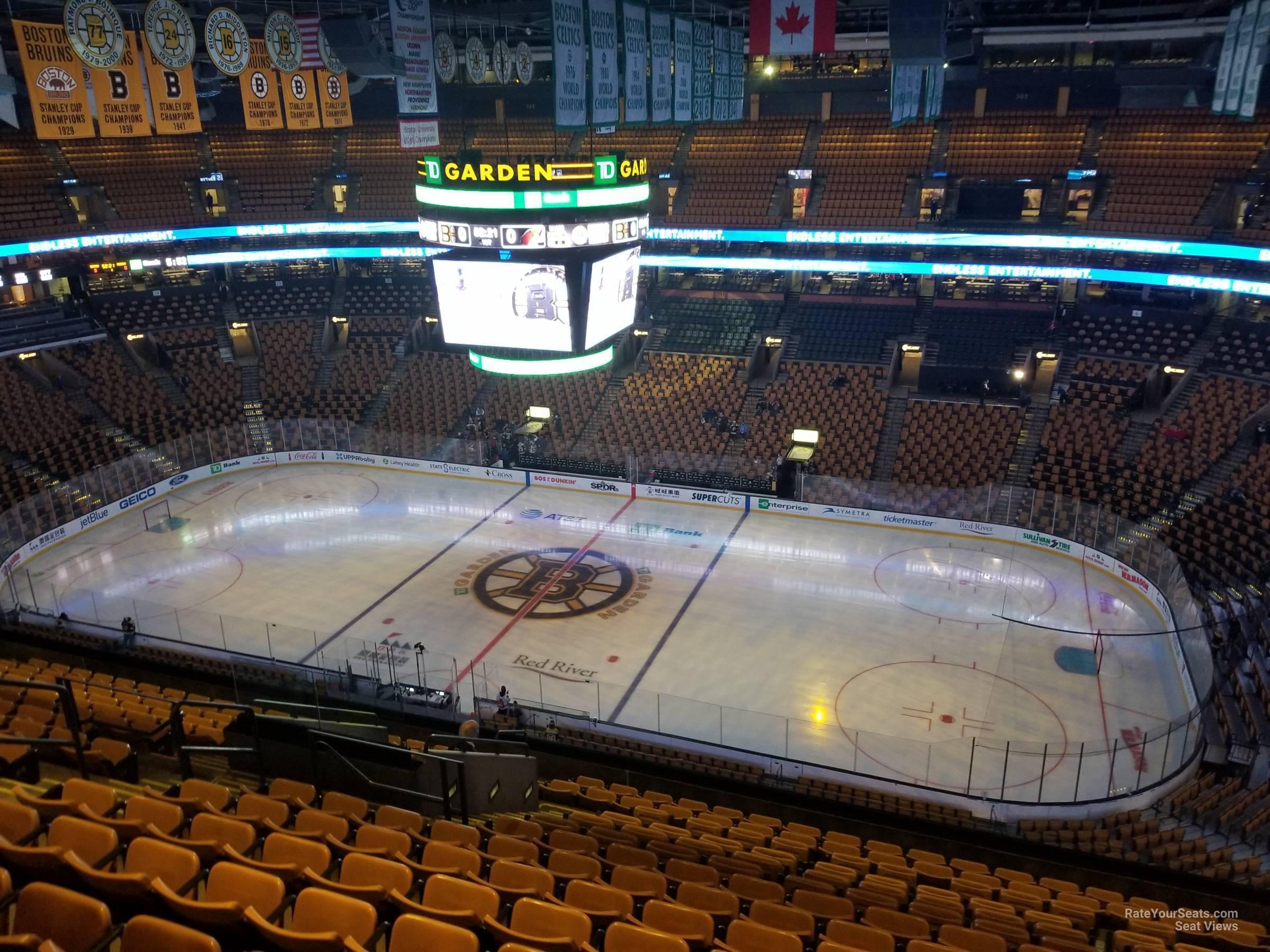 Td Garden Section 314 Boston Bruins Rateyourseats Com