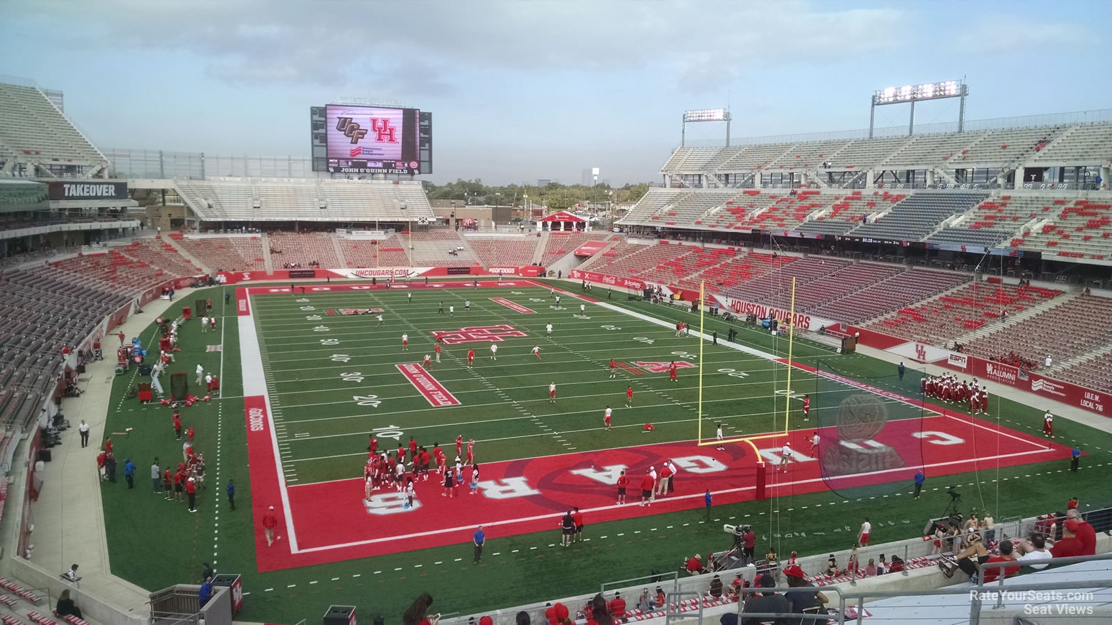 Seat View for TDECU Stadium Section 241, Row 4