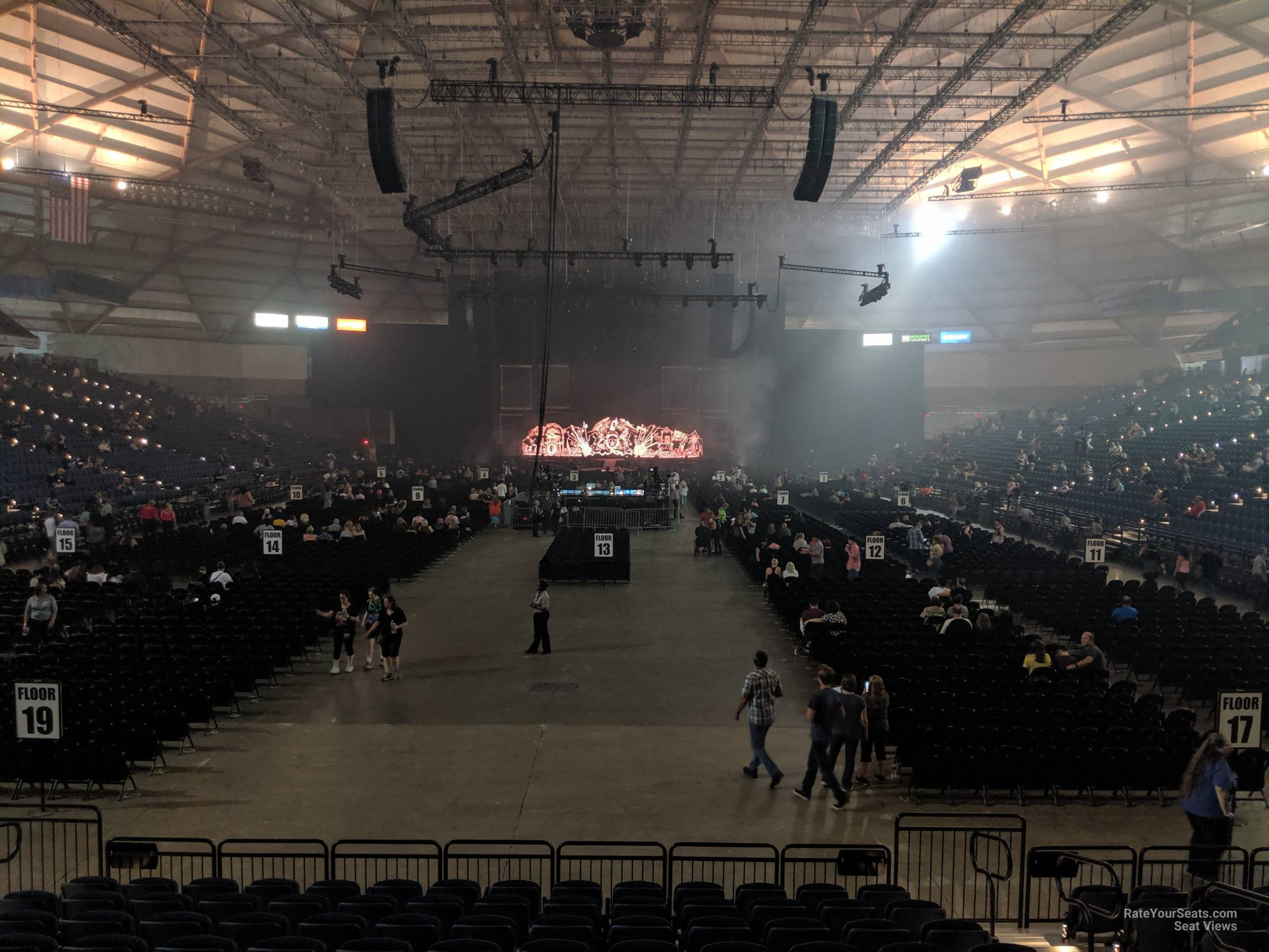 Tacoma Dome Section 111 - RateYourSeats.com