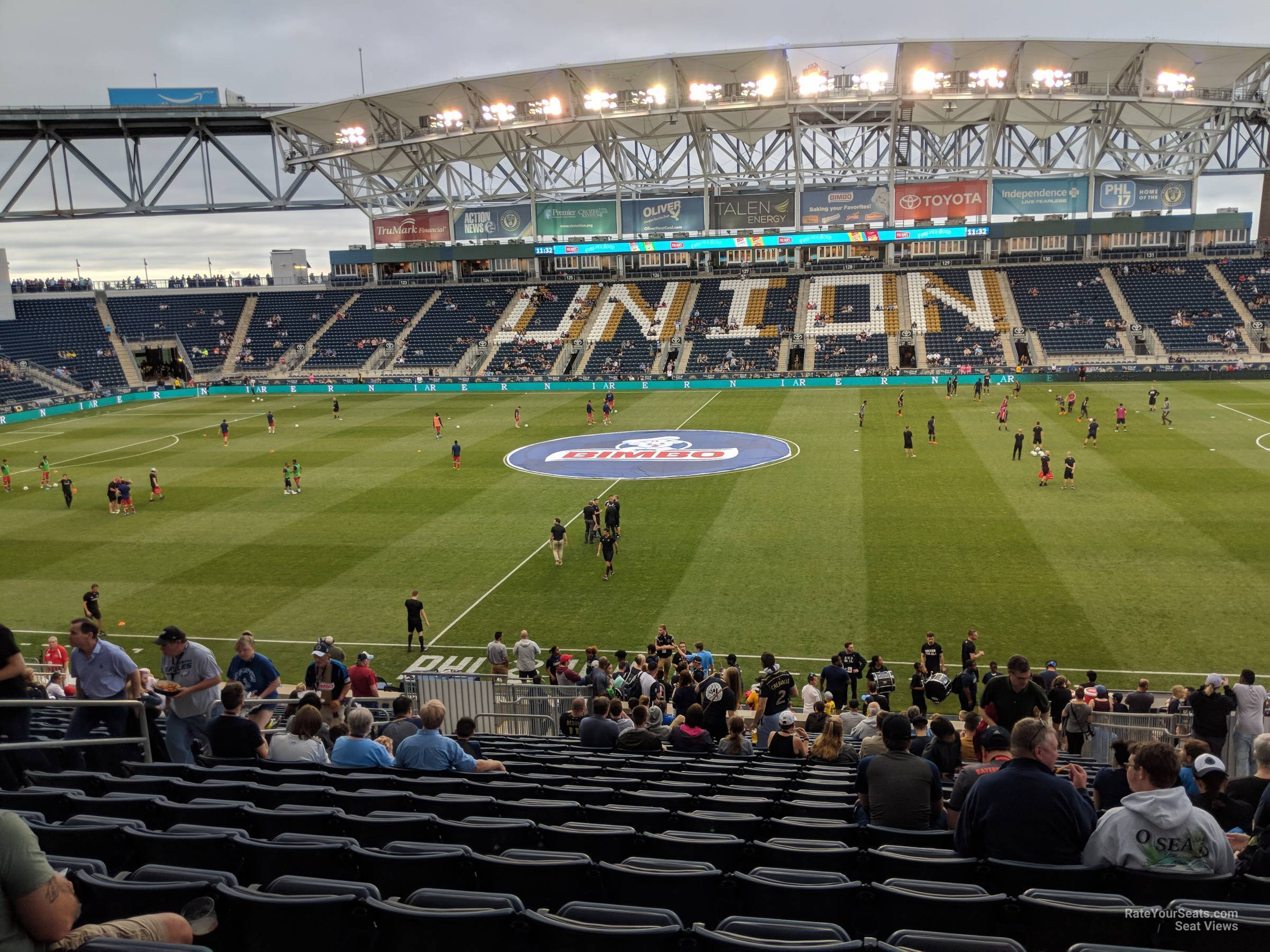 Seat View For Talen Energy Stadium Section 106