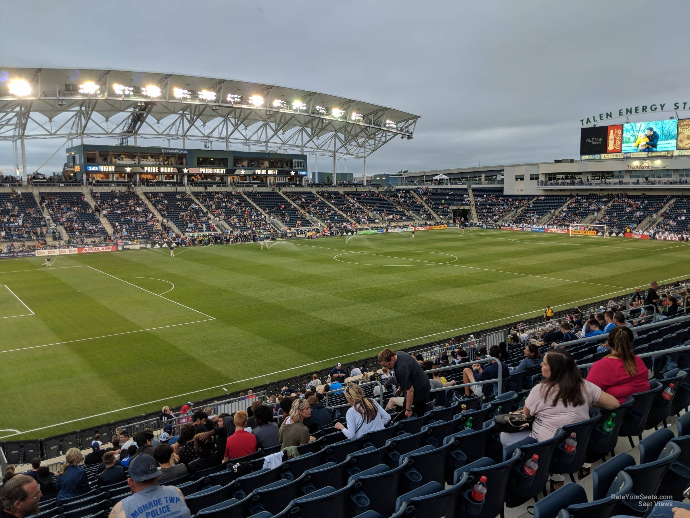 Seat View For Talen Energy Stadium Section 132