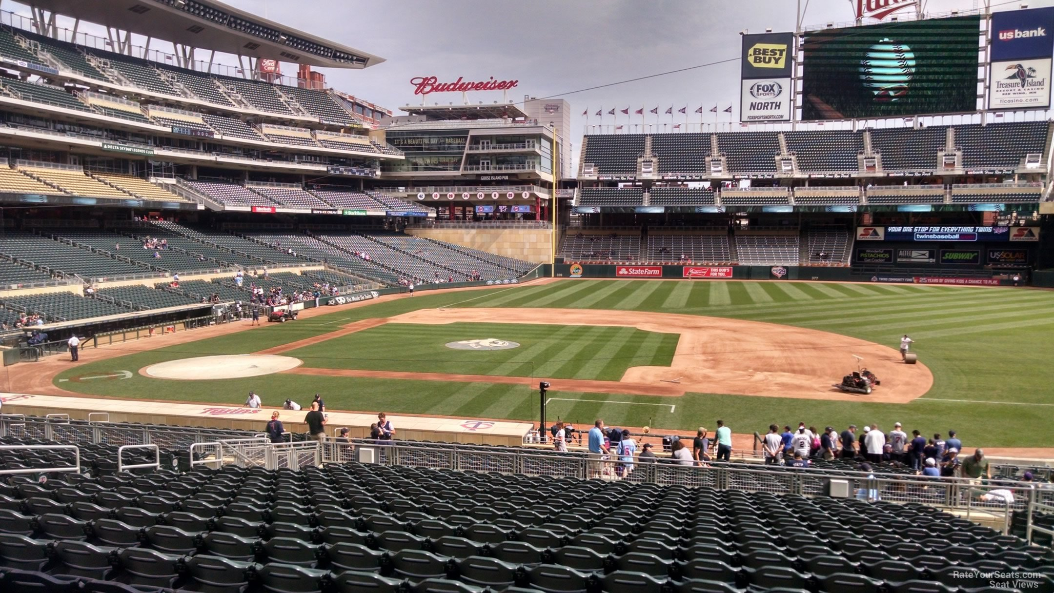 Target Field Section 108 Rateyourseats Com
