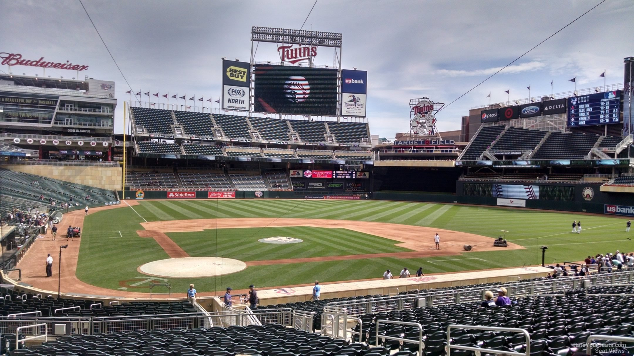 Target Field Section 111 Rateyourseats Com