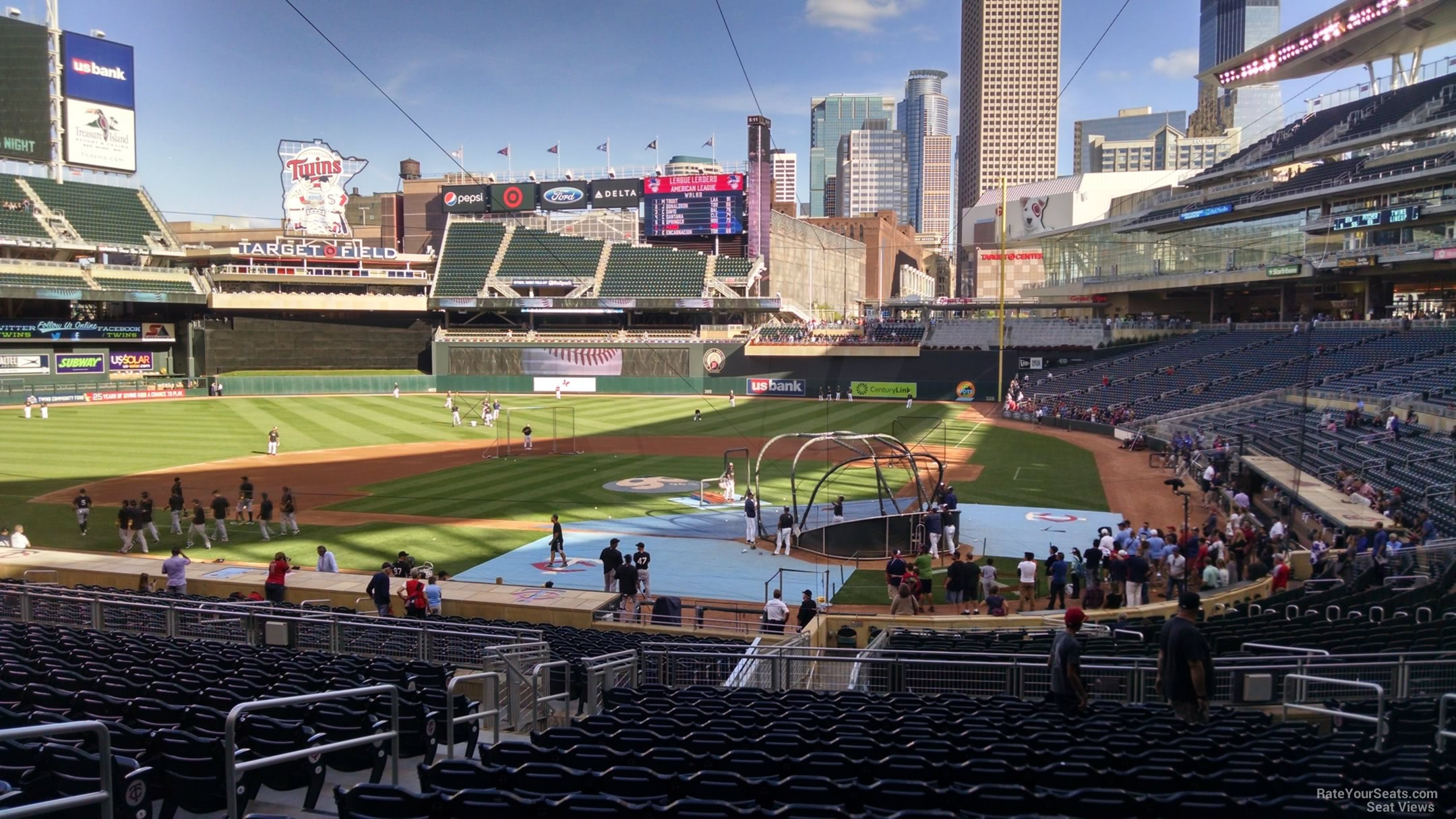 Target Field Section 117 Rateyourseats Com