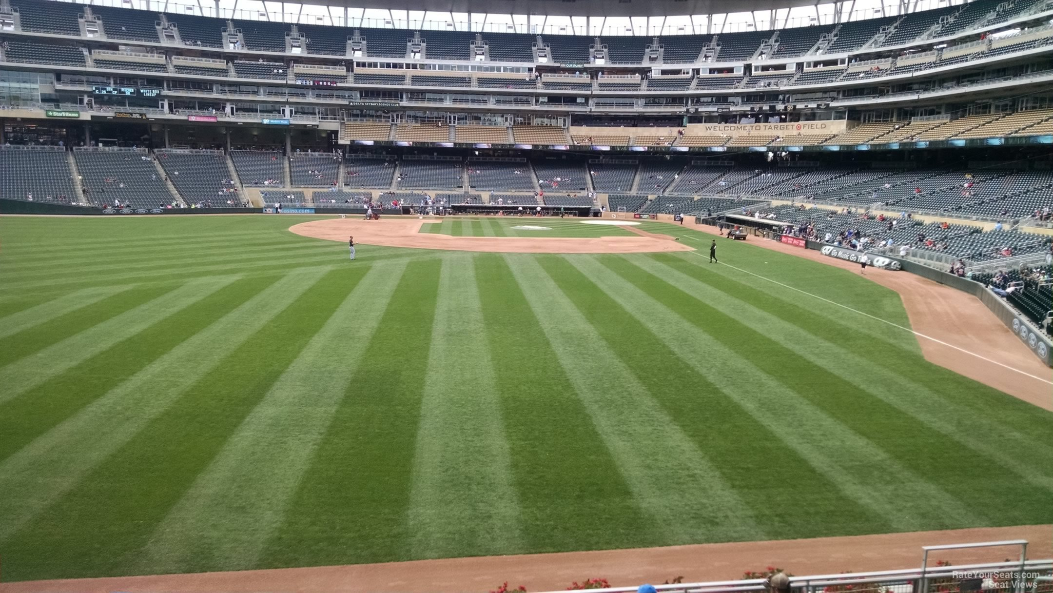Target Field Section 129 Rateyourseats Com
