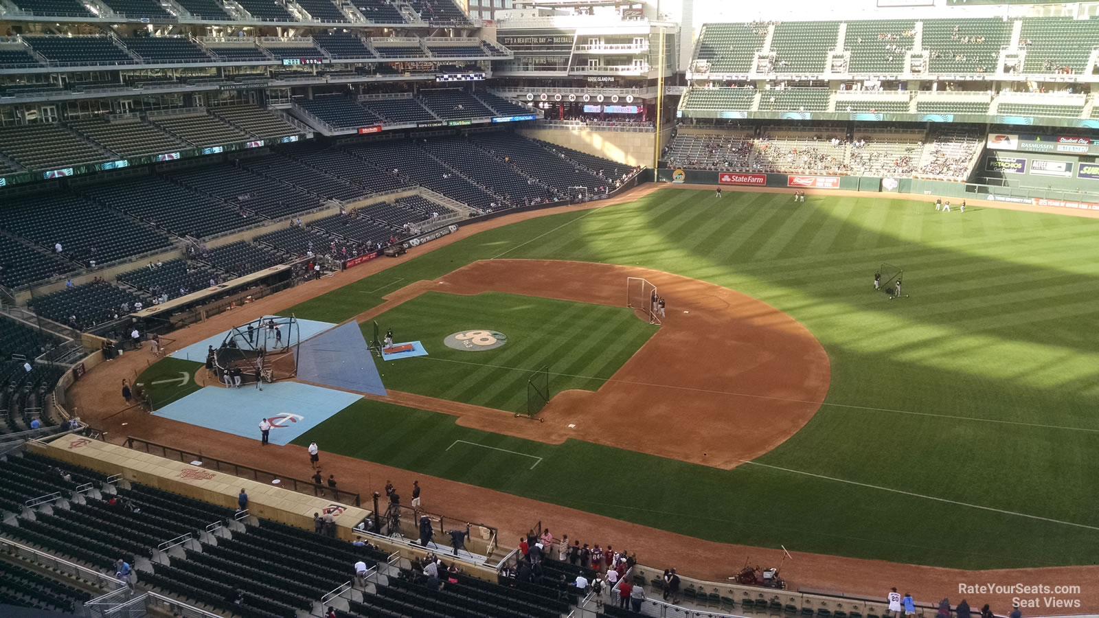 Target Field Section 207 Rateyourseats Com